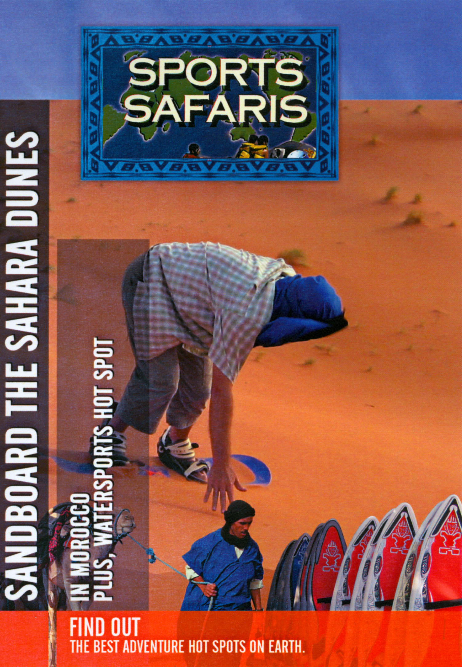Sports Safaris: Sandboard the Sahara Dunes