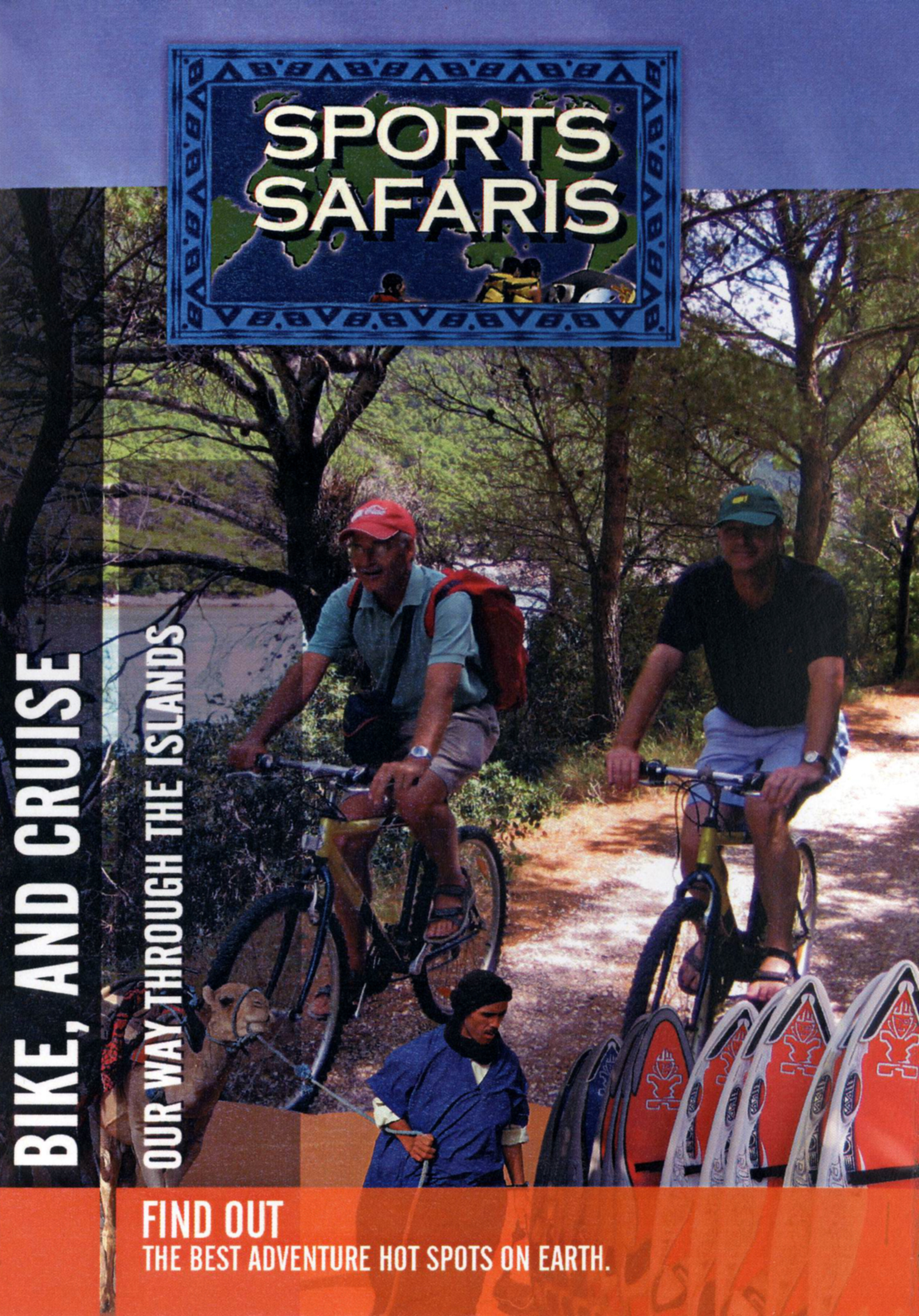 Sports Safaris: Bike, and Cruise Our Way Through the Islands