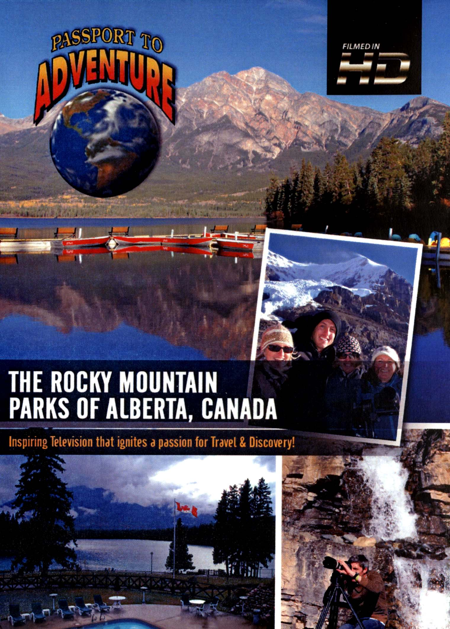 Passport to Adventure: The Rocky Mountain Parks of Alberta, Canada