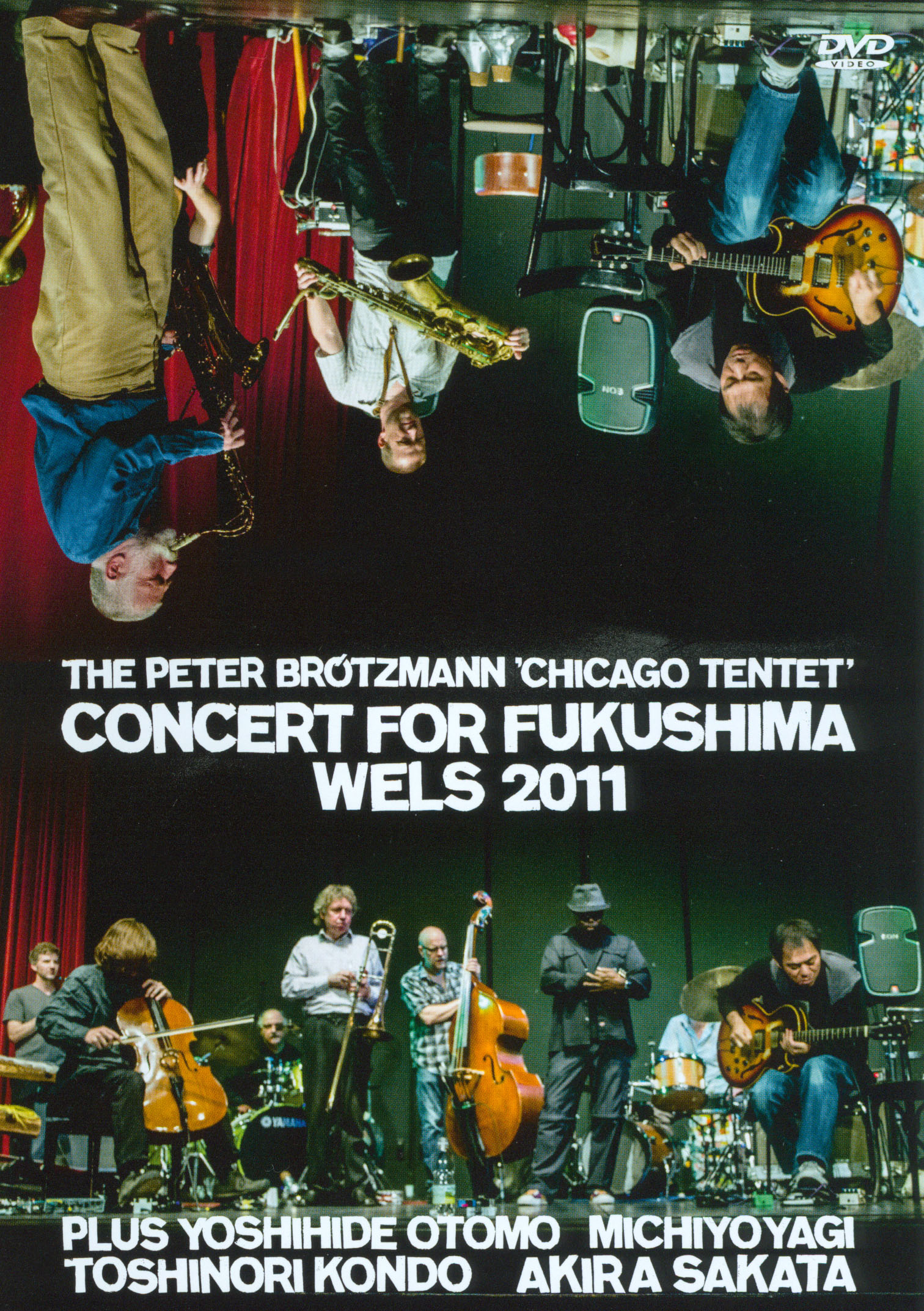The Peter Brotzmann Chicago Tentet: Concert for Fukushima - Wels 2011