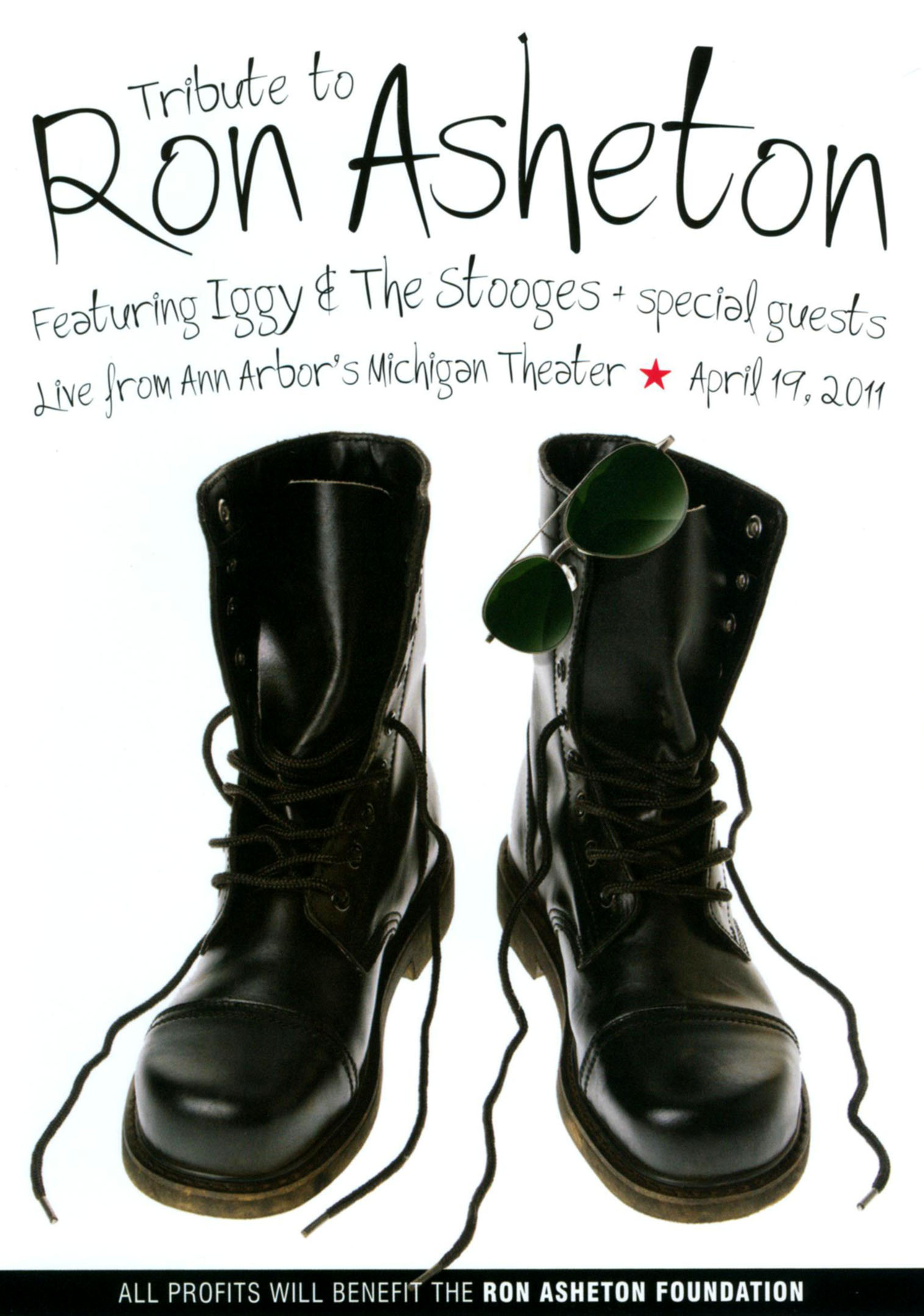 Tribute to Ron Asheton Featuring Iggy and the Stooges Plus Special Guests