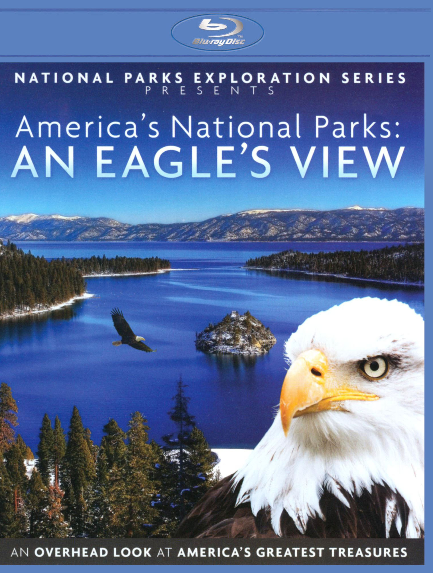 National Parks Exploration Series: America's National Parks - An Eagle's View