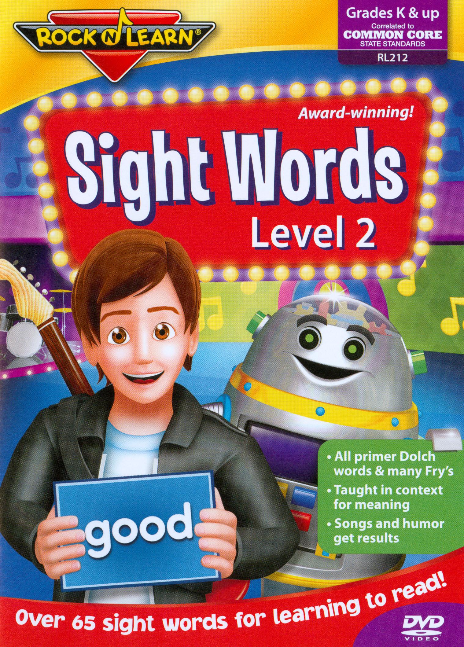 Rock 'N Learn: Sight Words - Level 2
