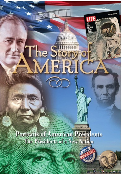 Portraits of American Presidents: Presidents of a New Nation -1789-1829
