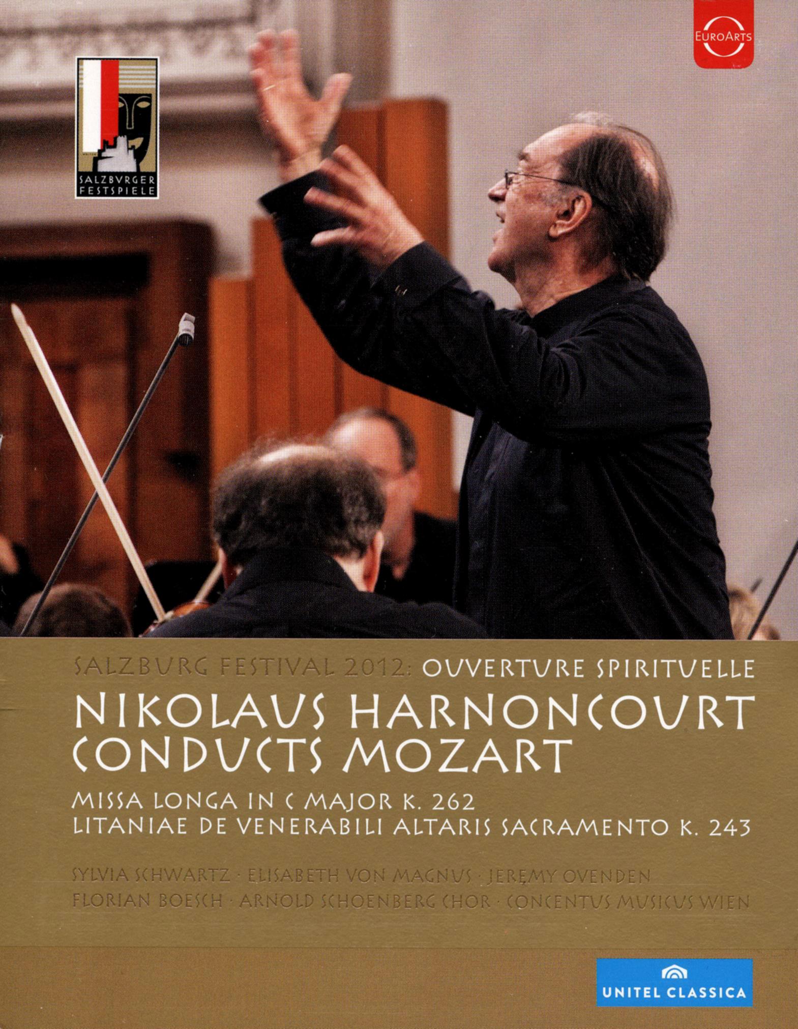 Salzburg Festival 2012: Ouverture Spirituelle - Nikolaus Harnoncourt Conducts Mozart