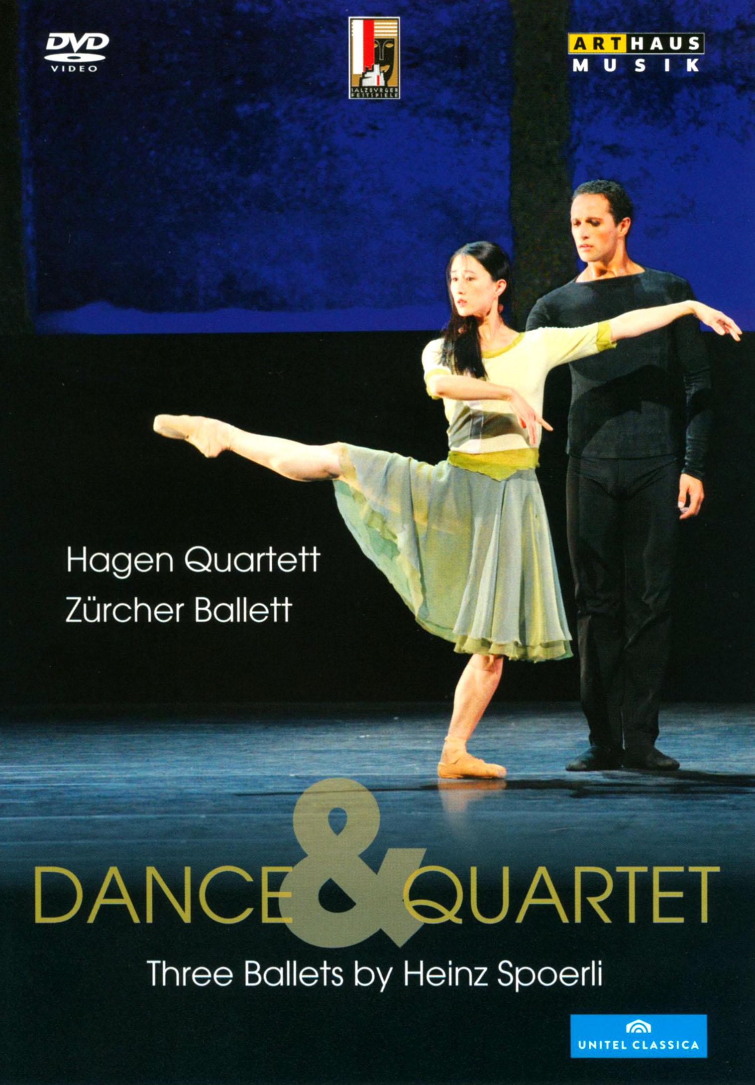 Dance & Quartet: Three Ballets by Heinz Spoerli