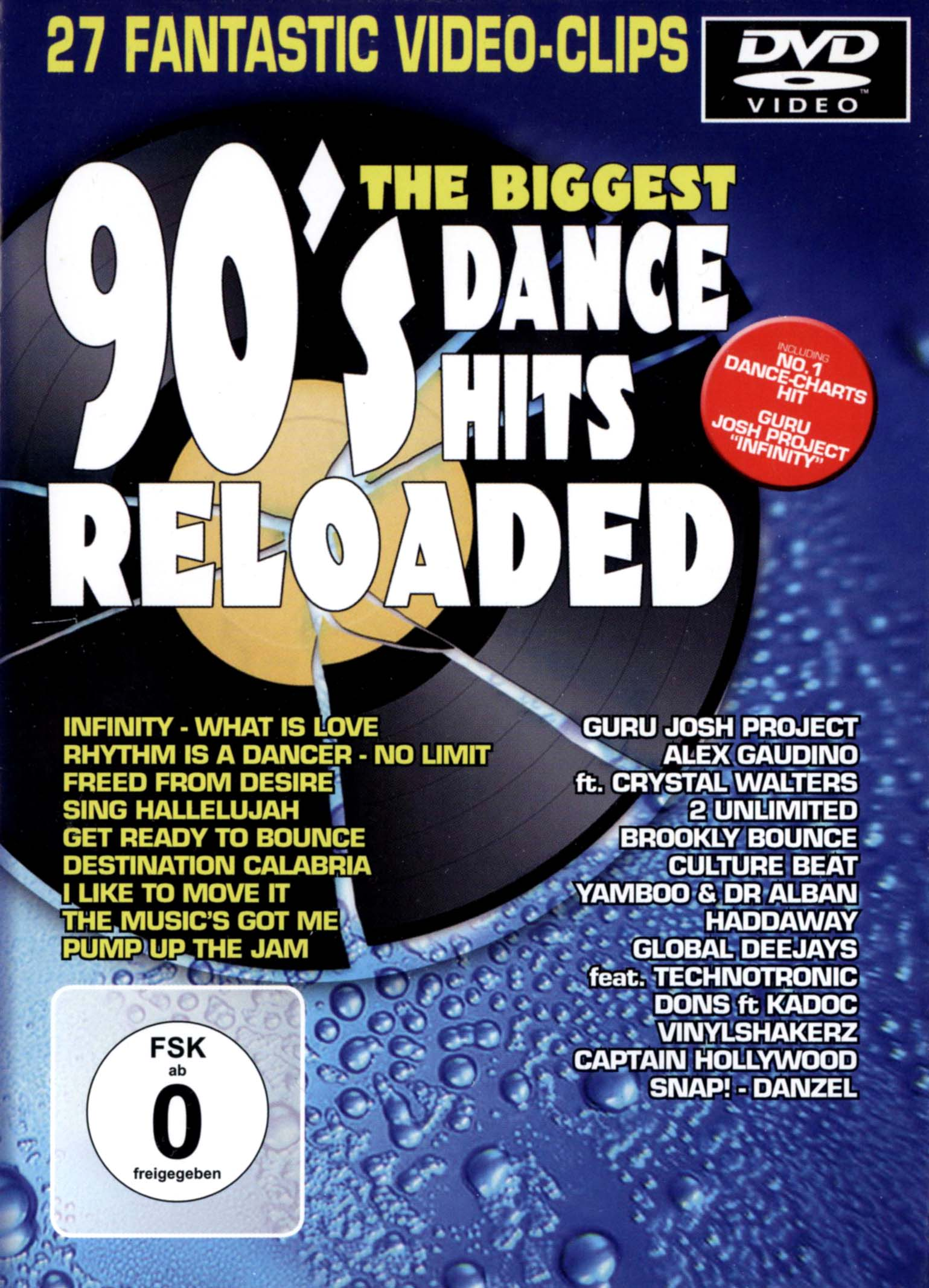 The Biggest 90's Dance Hits Reloaded