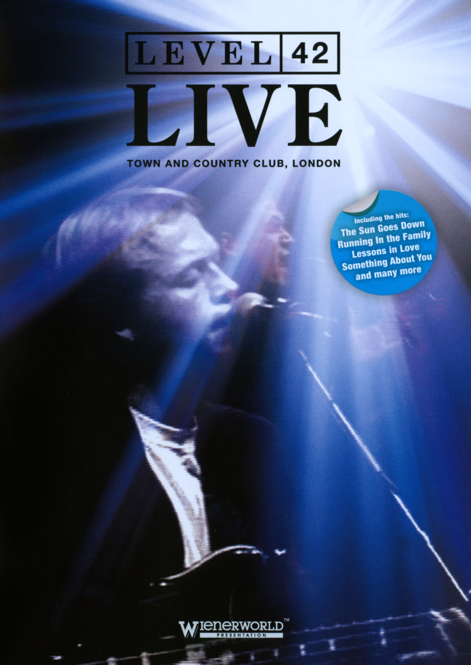 Level 42: Live - Town and Country Club, London