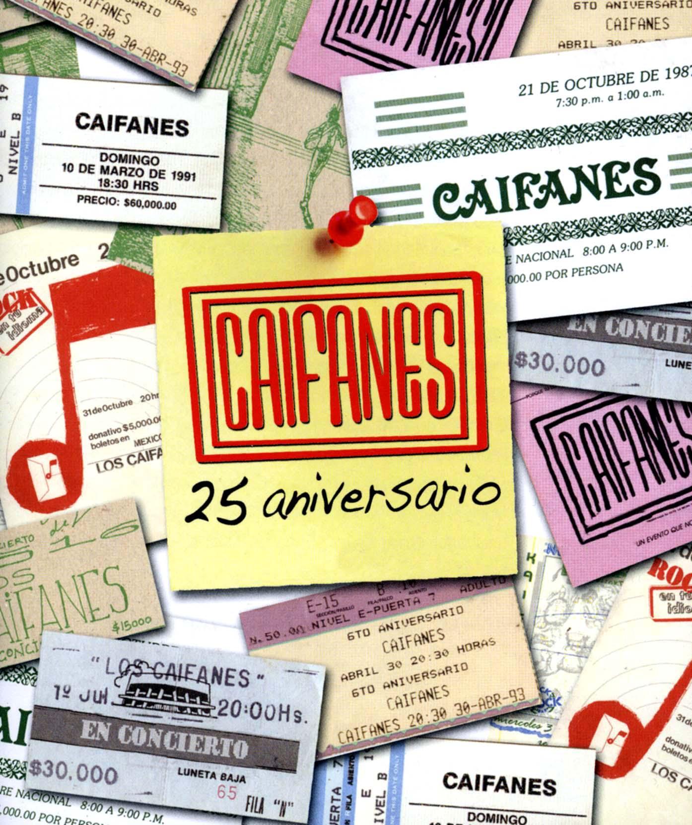 Caifanes: 25 Aniversario