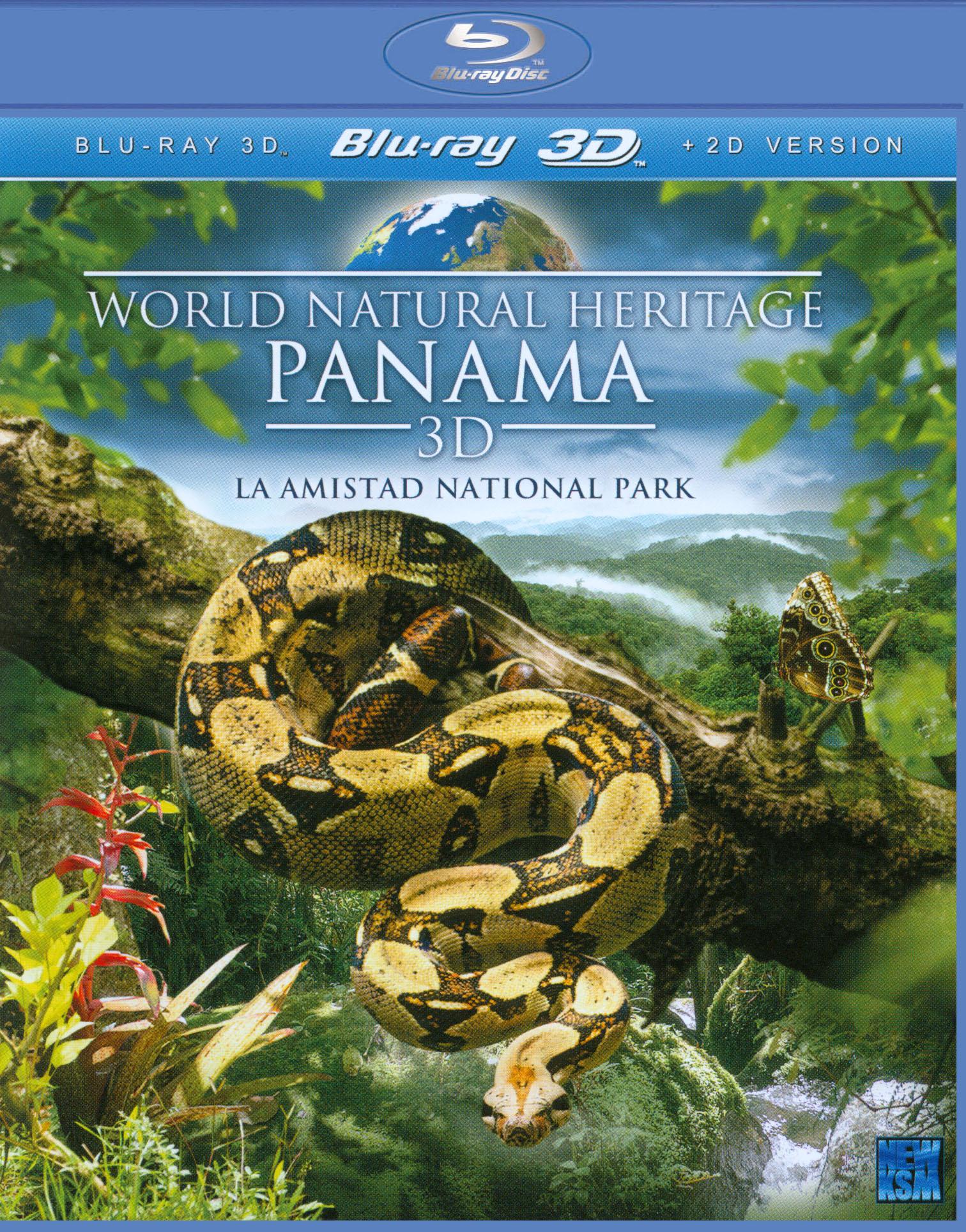 World Natural Heritage: Panama 3D - La Amistad National Park