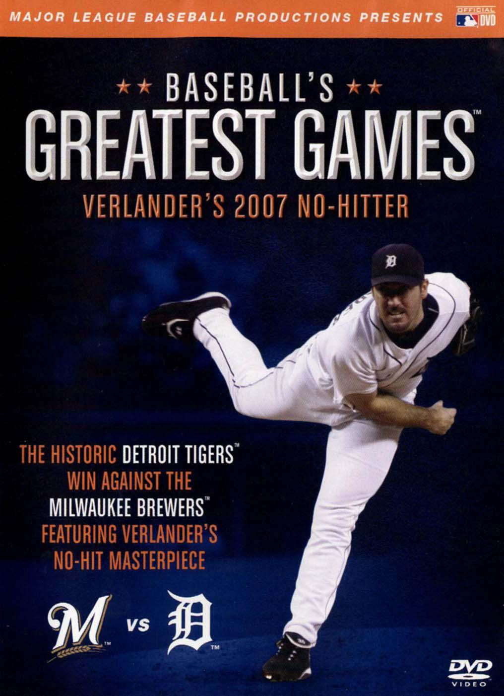 MLB: Baseball's Greatest Games - Verlander's 2007 No-Hitter