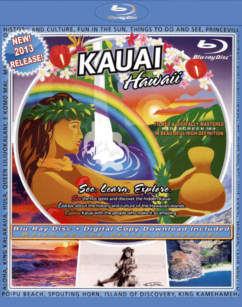 The Video Postcard of Kauai, Hawaii