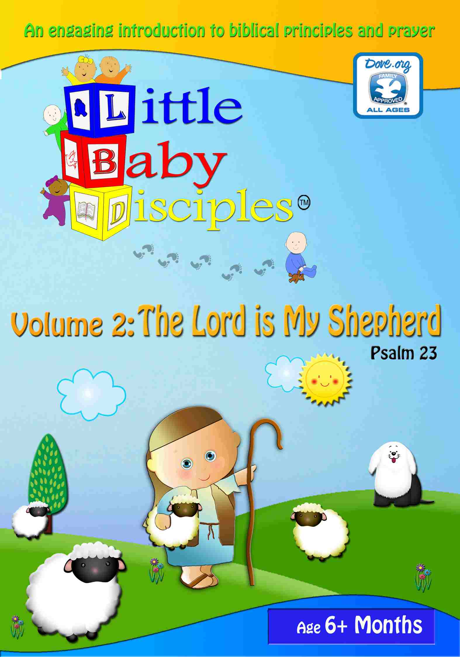 Little Baby Disciples, Vol. 2: Psalm 23 - The Lord Is My Shepherd