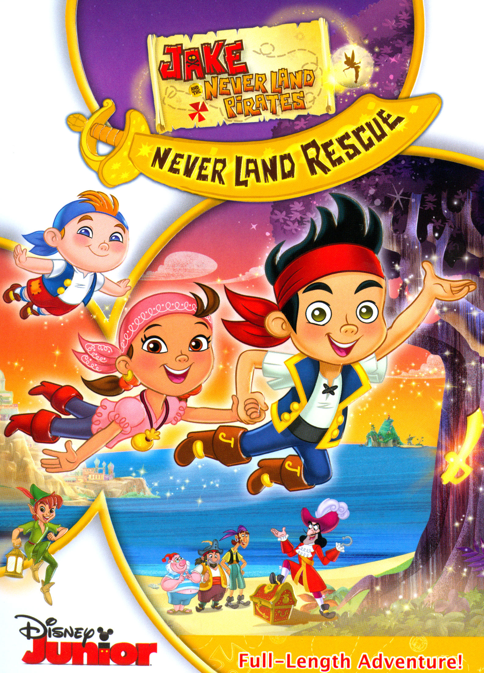 Jake and the Never Land Pirates: Jake's Never Land Rescue