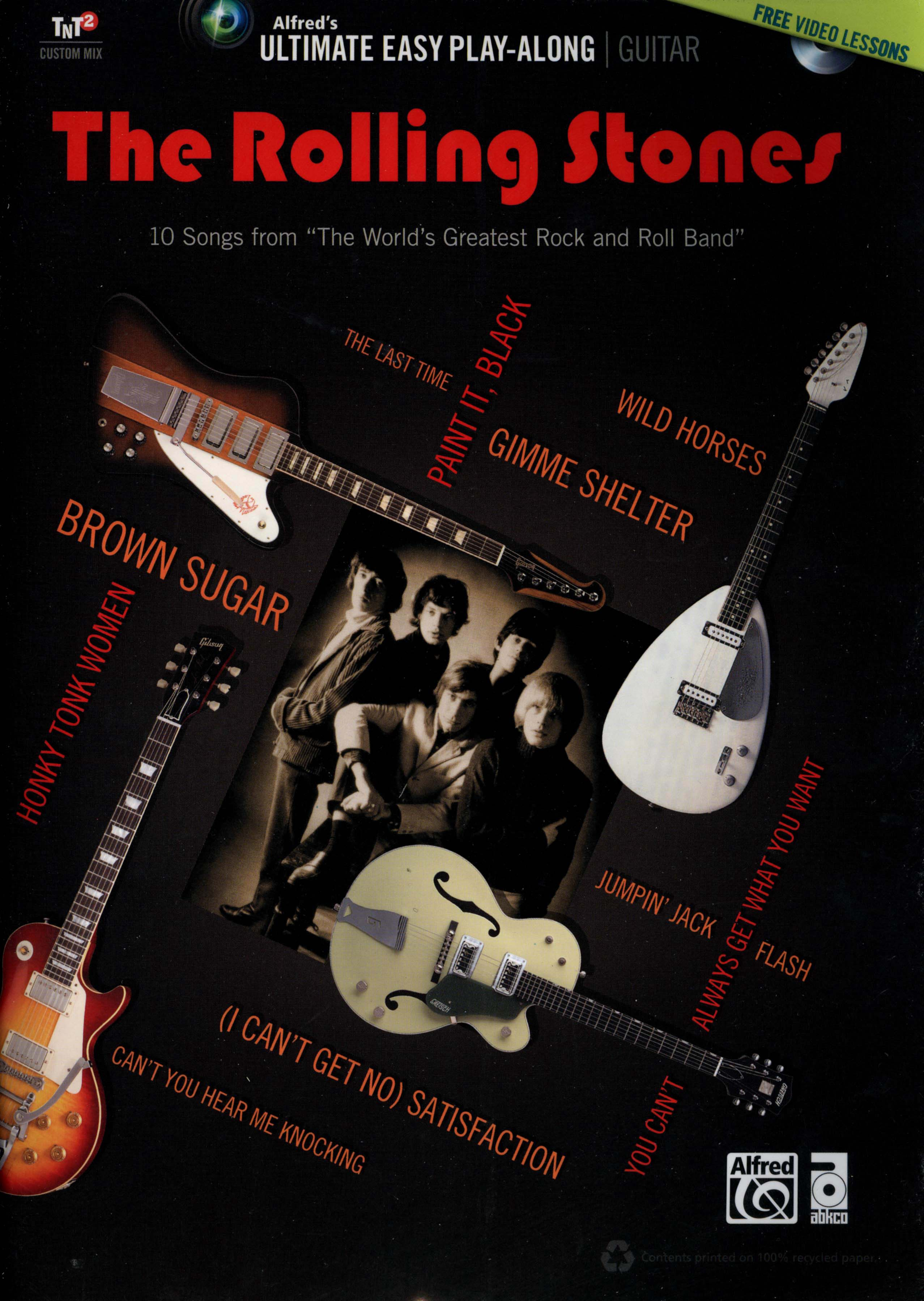 Alfred's Ultimate Easy Play-Along Guitar: The Rolling Stones