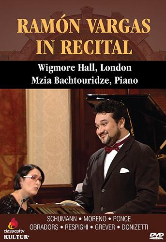 Ramón Vargas: In Recital - Wigmore Hall, London