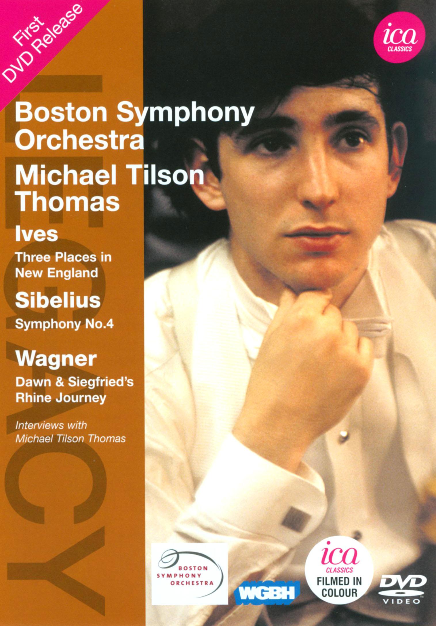 Boston Symphony Orchestra/Michael Tilson Thomas: Ives/Sibelius/Wagner