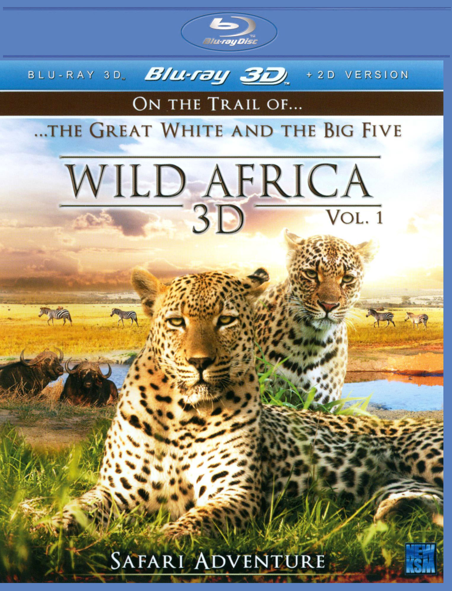 Wild Africa 3D, Vol. 1: Safari Adventure