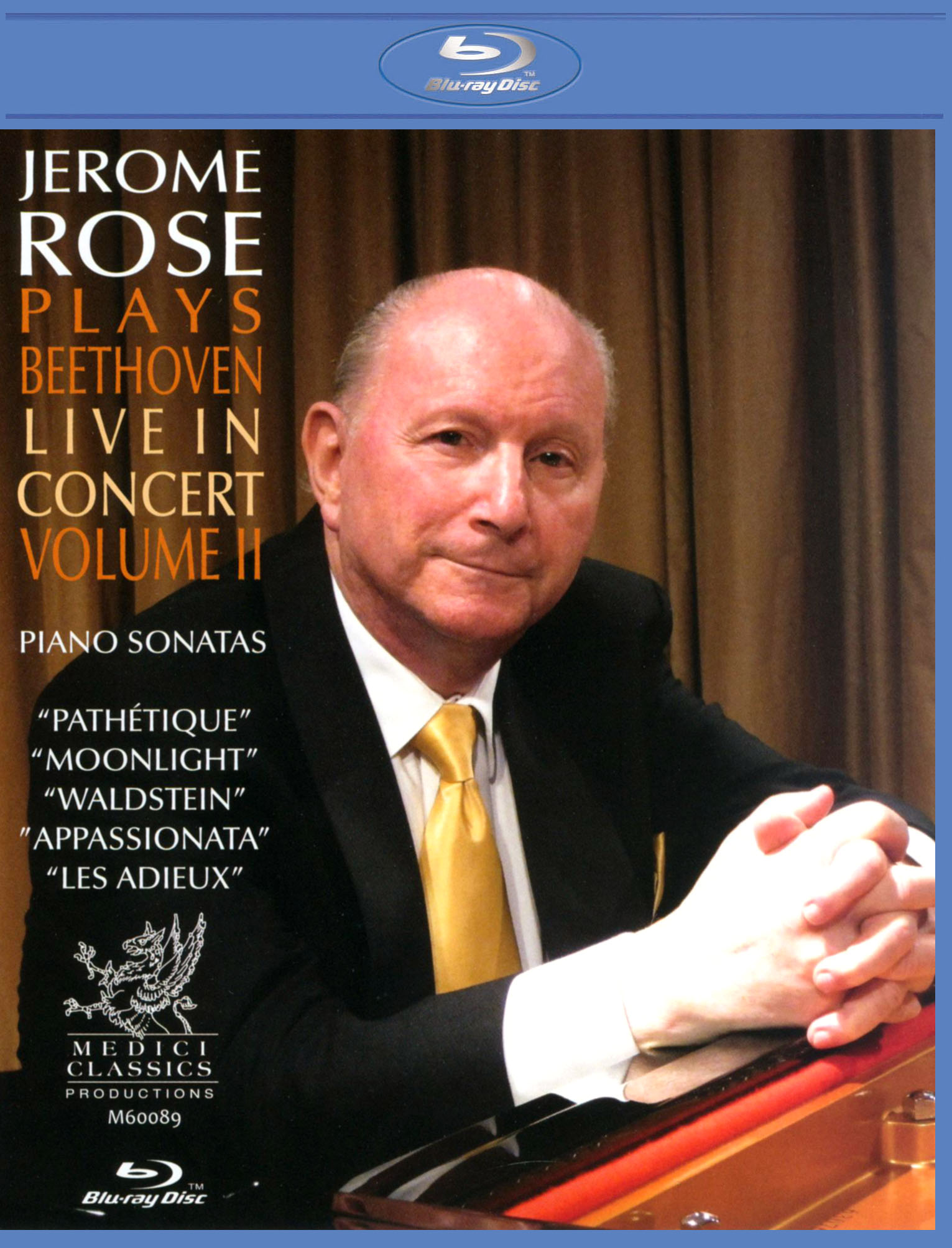 Jerome Rose Plays Beethoven: Live in Concert, Vol. 2
