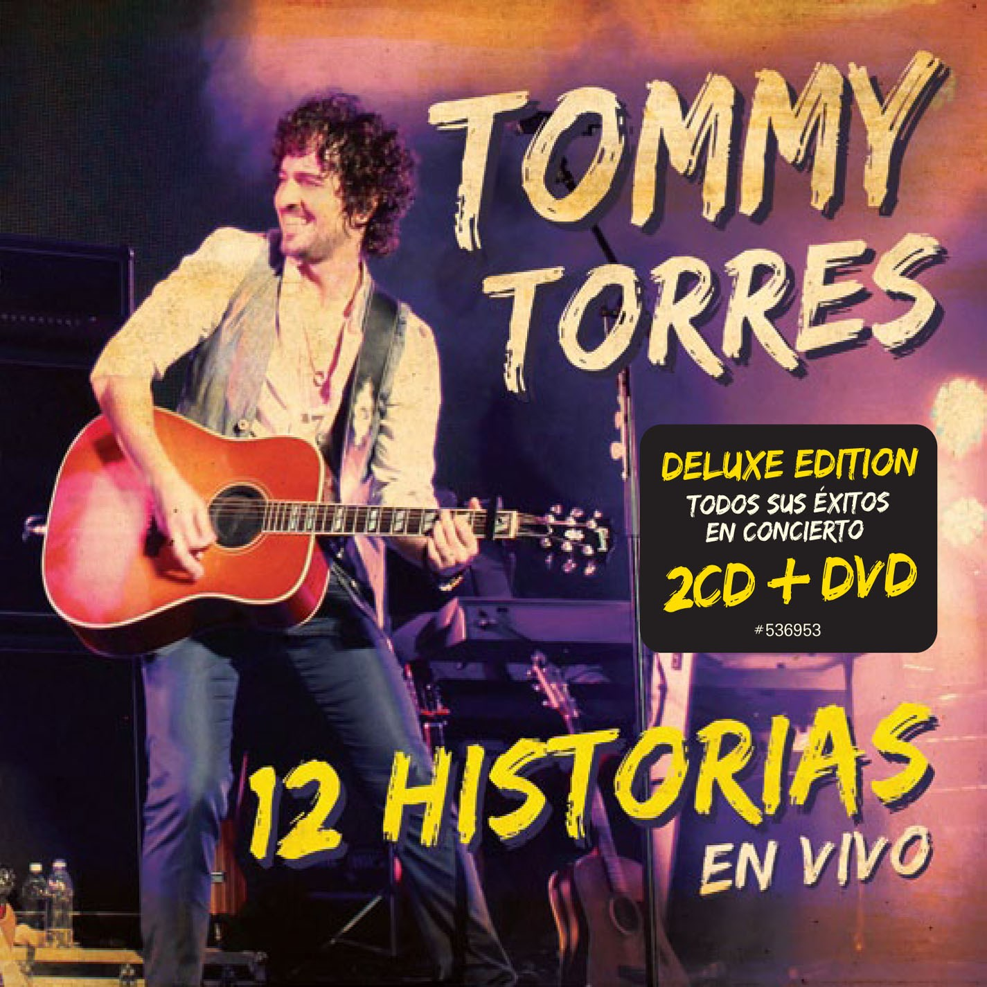 Tommy Torres: 12 Historias - En Vivo