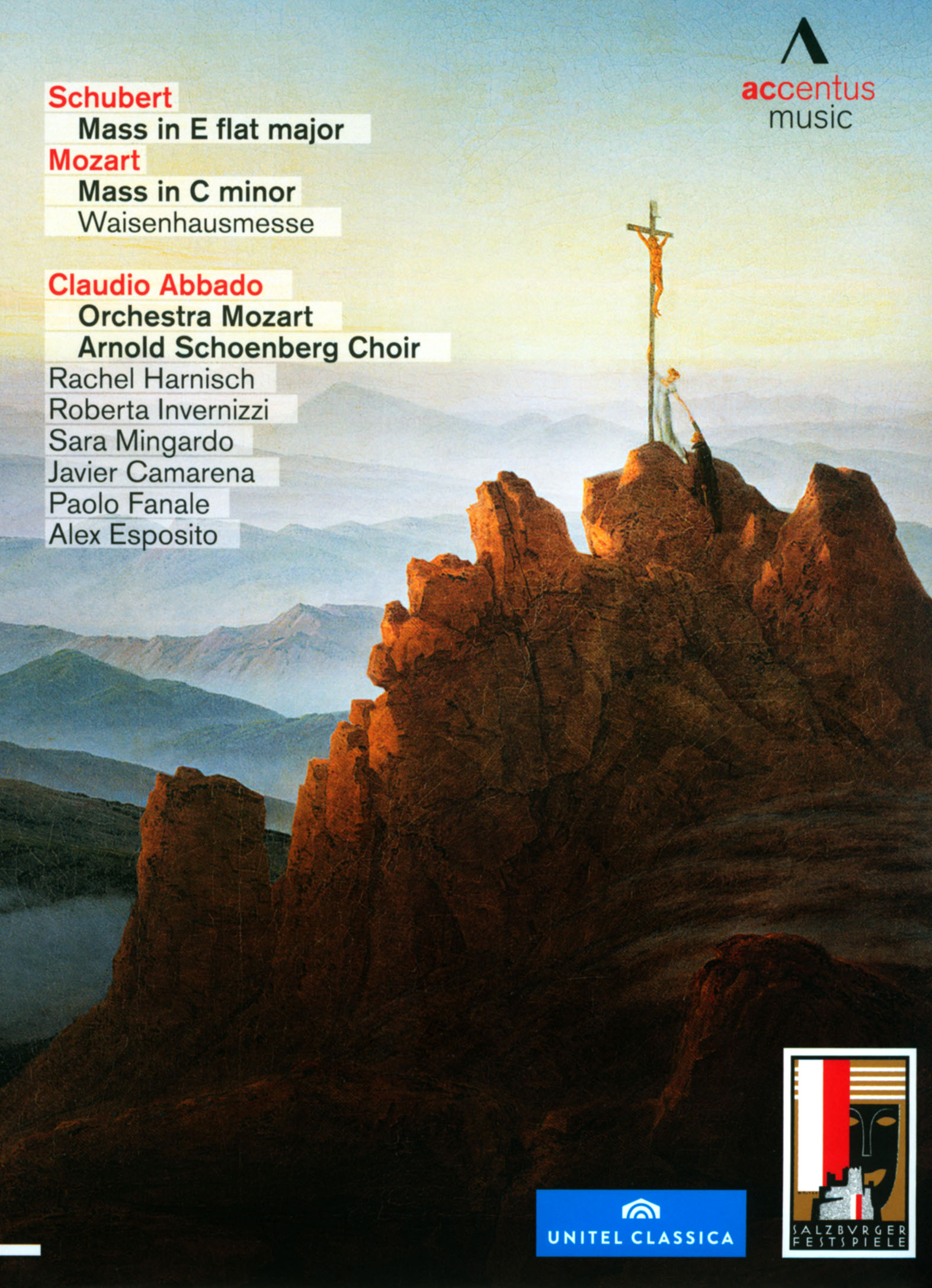 Claudio Abbado/Orchestra Mozart: Schubert - Mass in E Flat Major/Mozart - Mass in C Minor