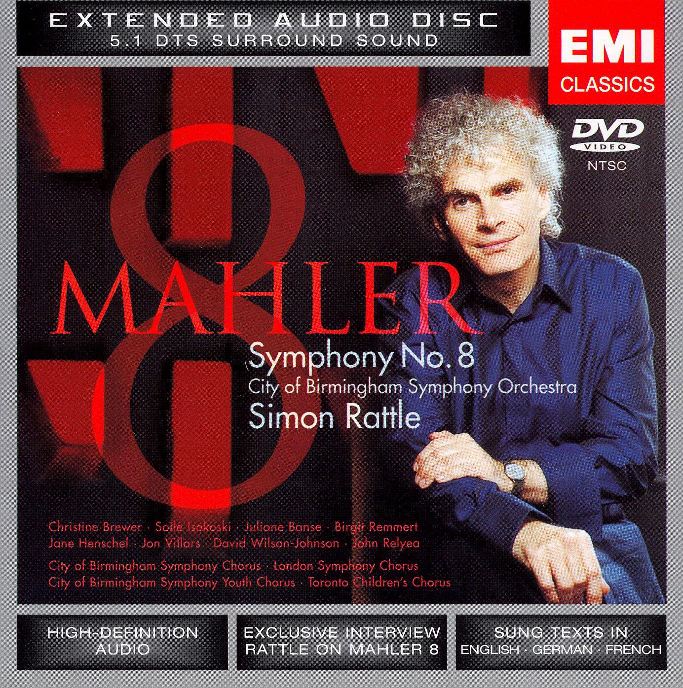 Simon Rattle: Mahler - Symphony No. 8