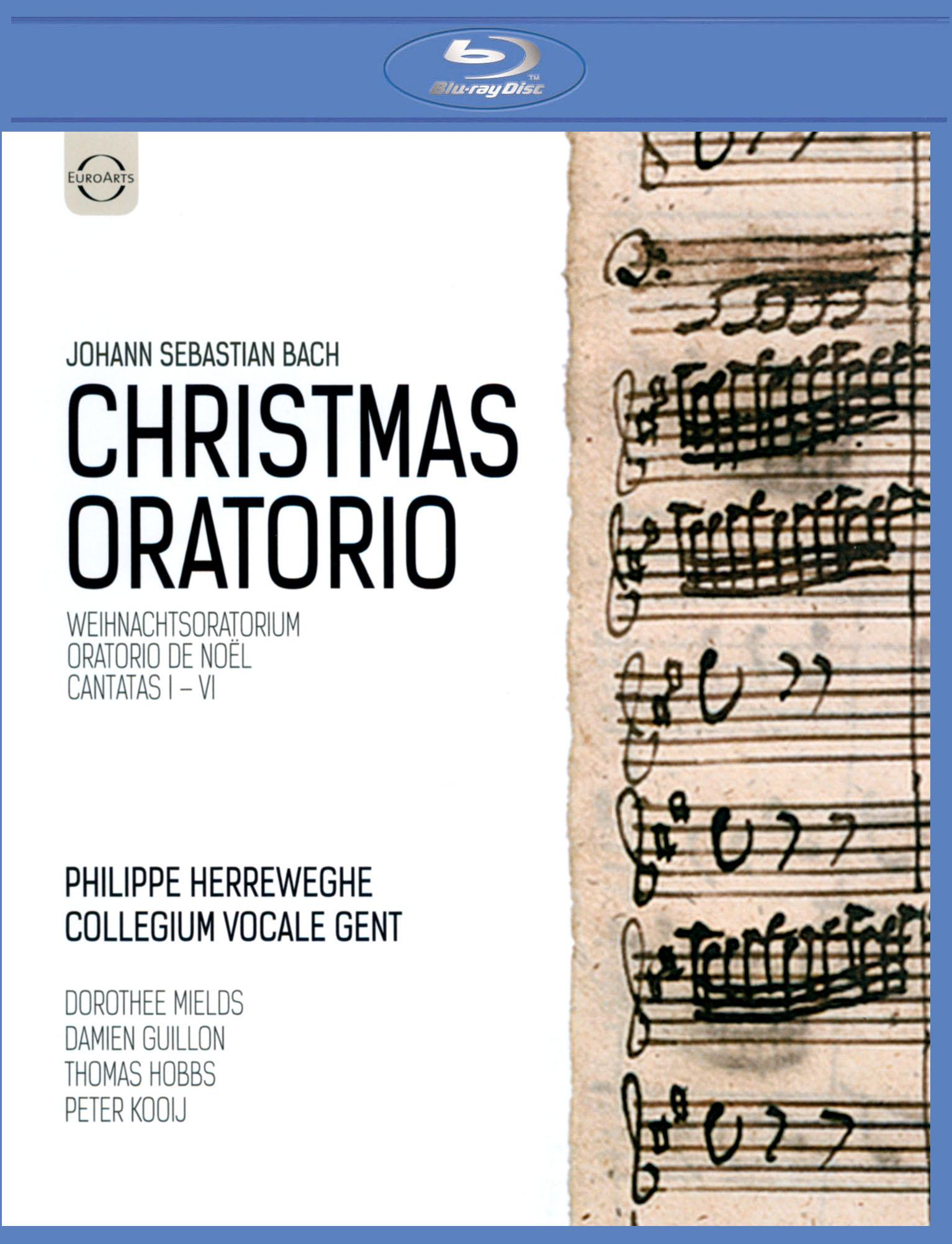 Philippe Herreweghe/Collegium Vocale Gent: Johann Sebastian Bach - Christmas Oratorio