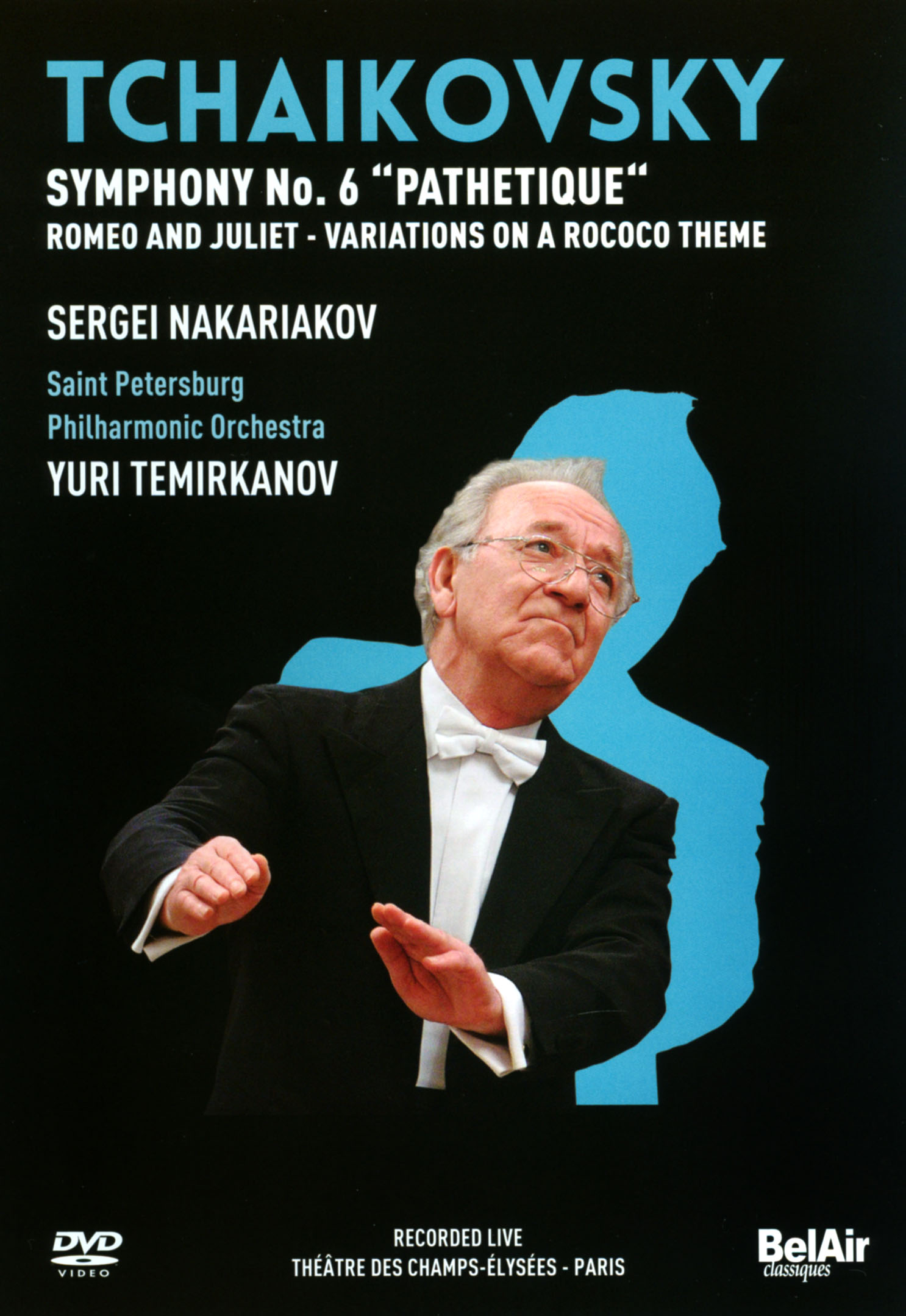 Saint Petersburg Philharmonic Orchestra/Yuri Temirkanov: Tchaikovsky - Symphony No. 6