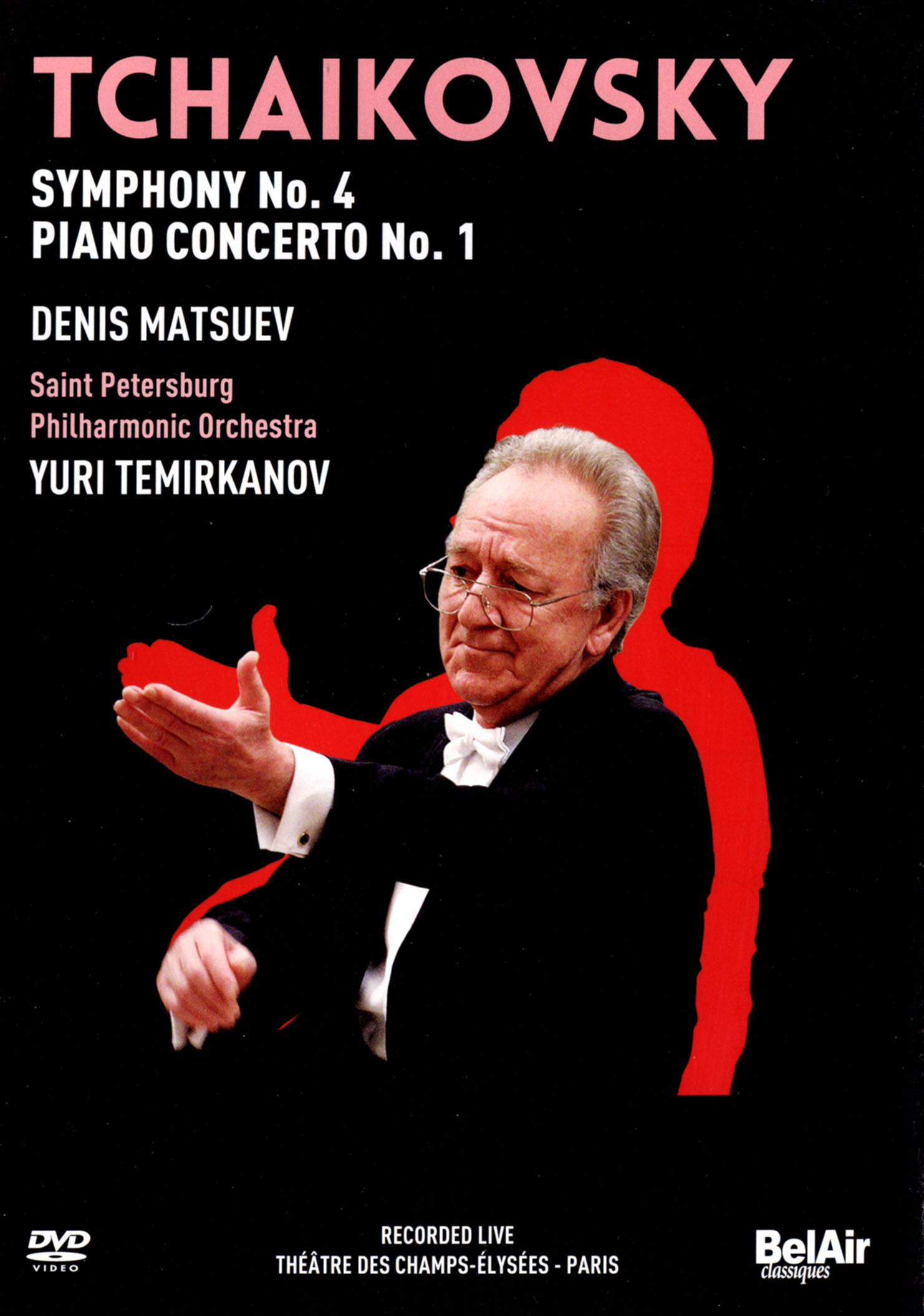 Saint Petersburg Philharmonic Orchestra/Yuri Temirkanov: Tchaikovsky - Symphony No. 4/Piano Concerto