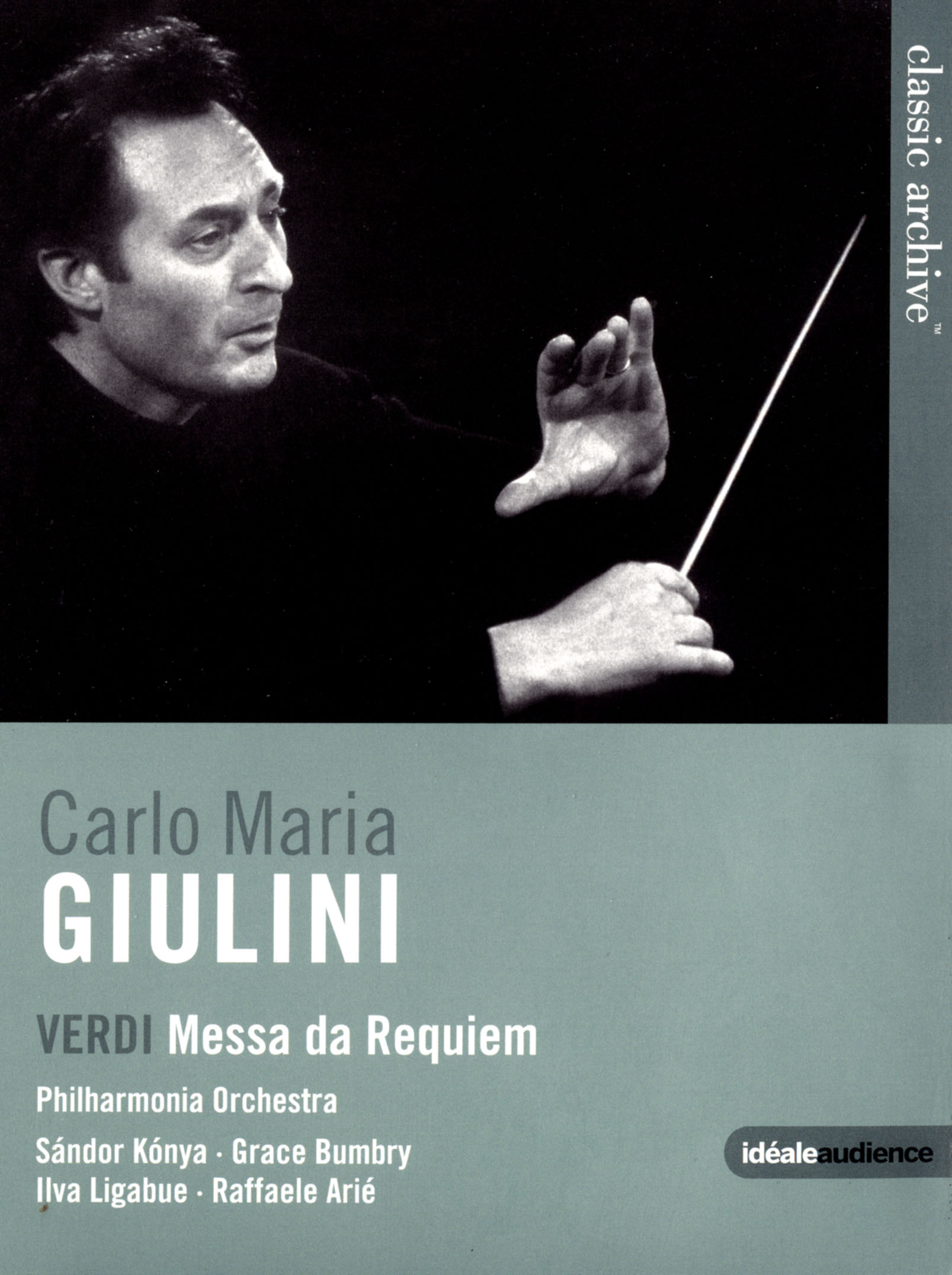 Carlo Maria Giulini/Philharmonia Orchestra: Verdi - Messa da Requiem