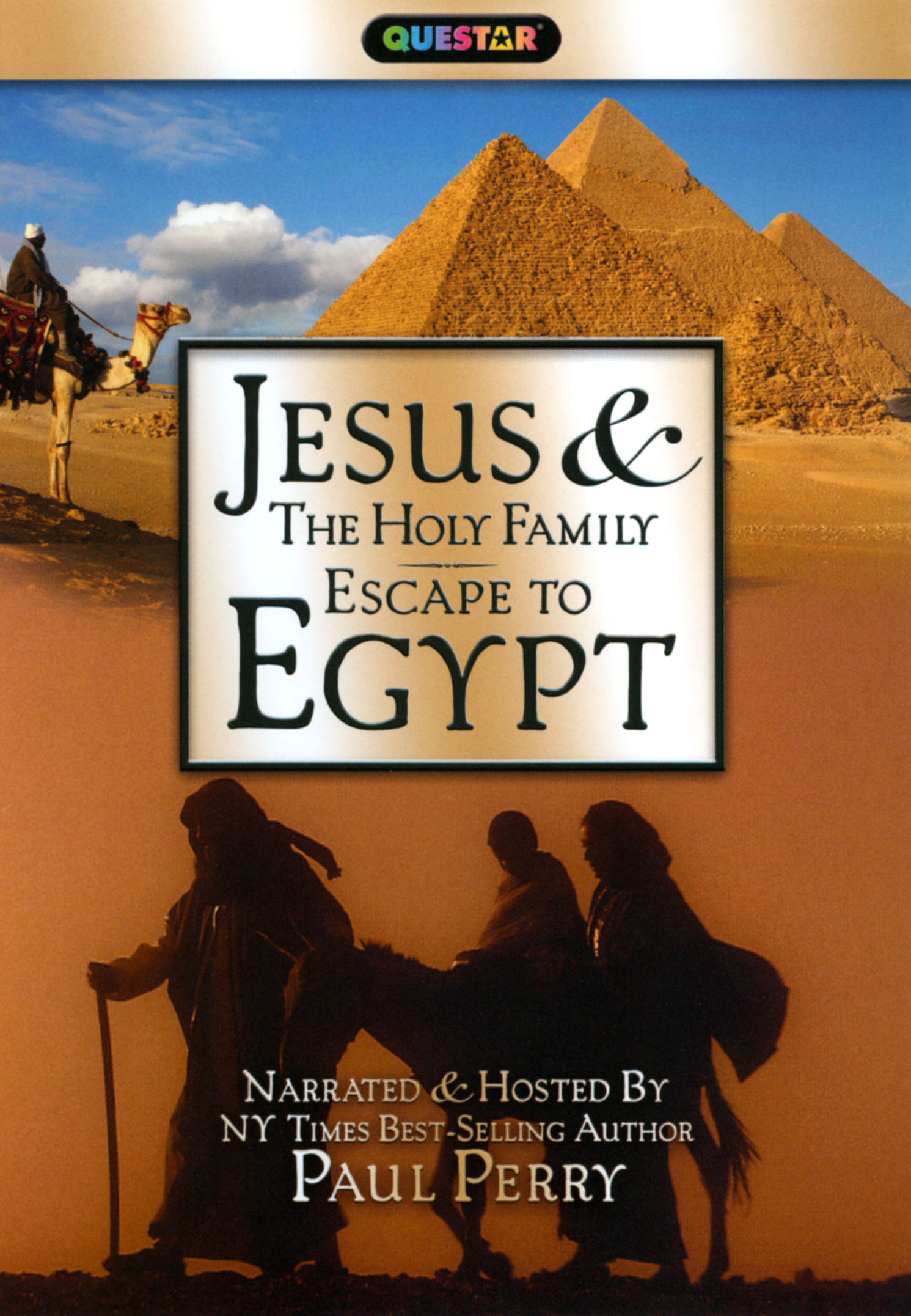 Jesus and the Holy Family Escape to Egypt