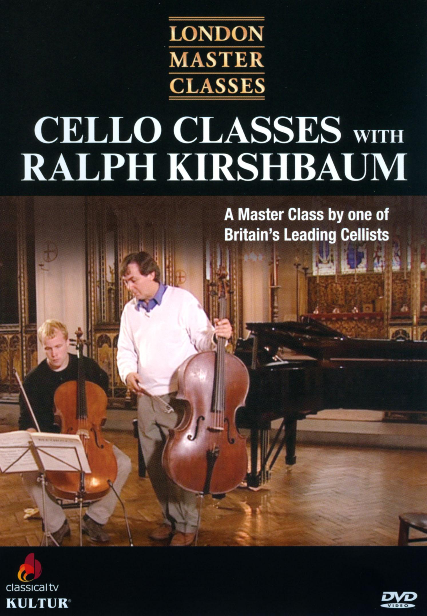London Master Classes: Cello Classes with Ralph Kirshbaum (2013)