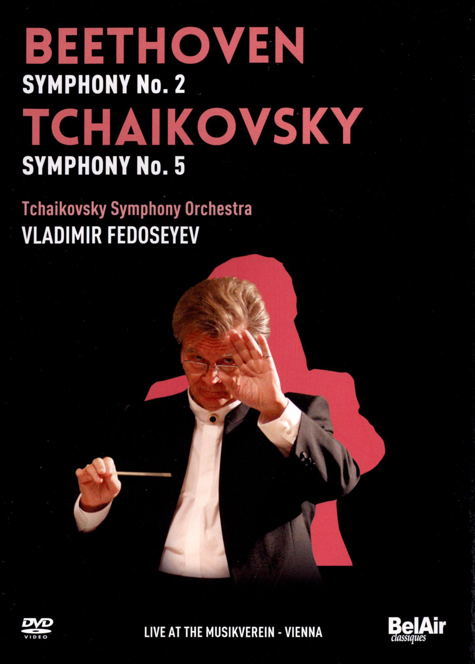 Tchaikovsky Symphony Orchestra/Vladimir Fedoseyev: Beethoven - Symphony No. 2/Tchaikovsky - Symphony