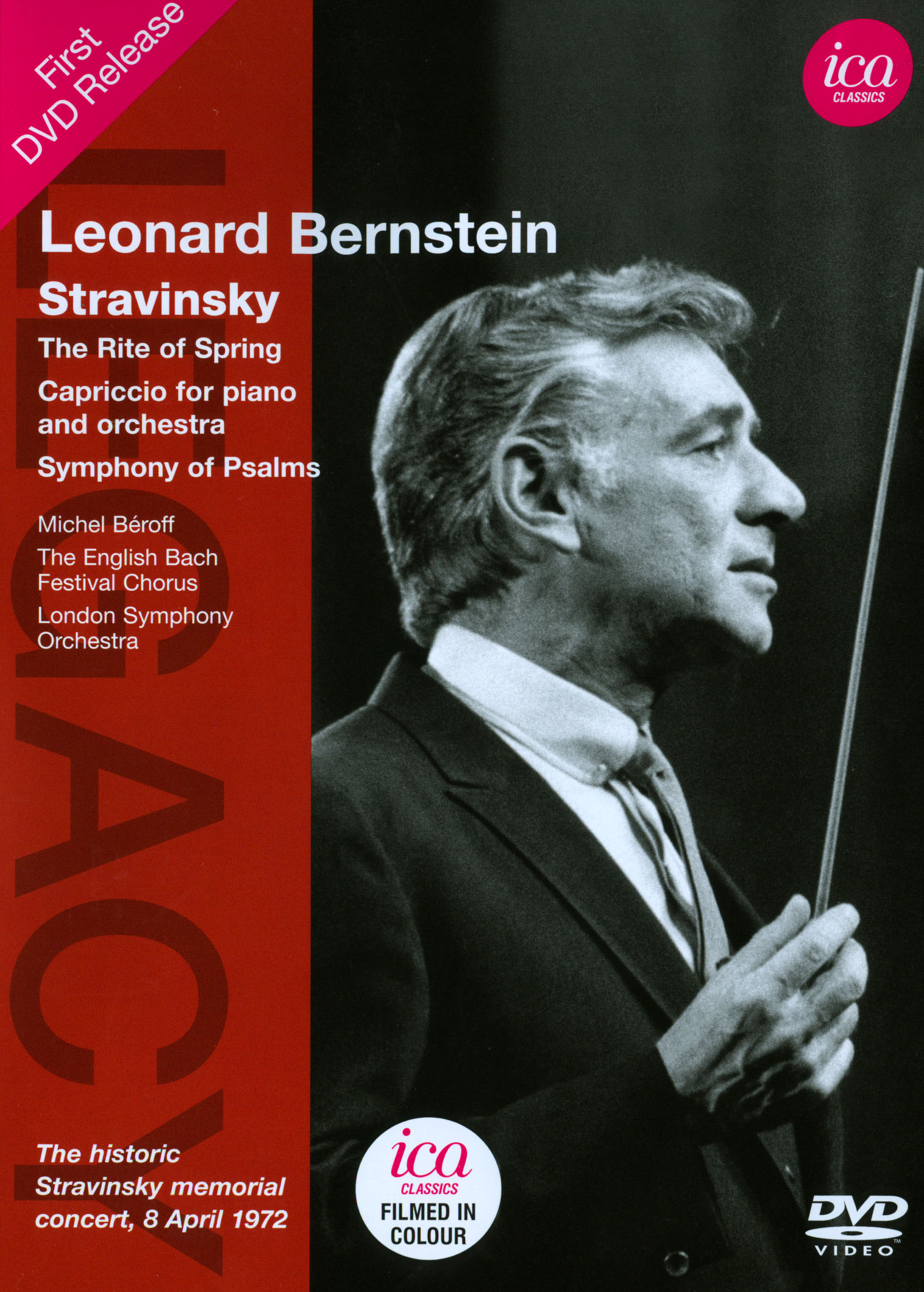 Leonard Bernstein: Stravinsky - The Rite of Spring/Capriccio for Piano & Orchestra/Symphony of Psalms