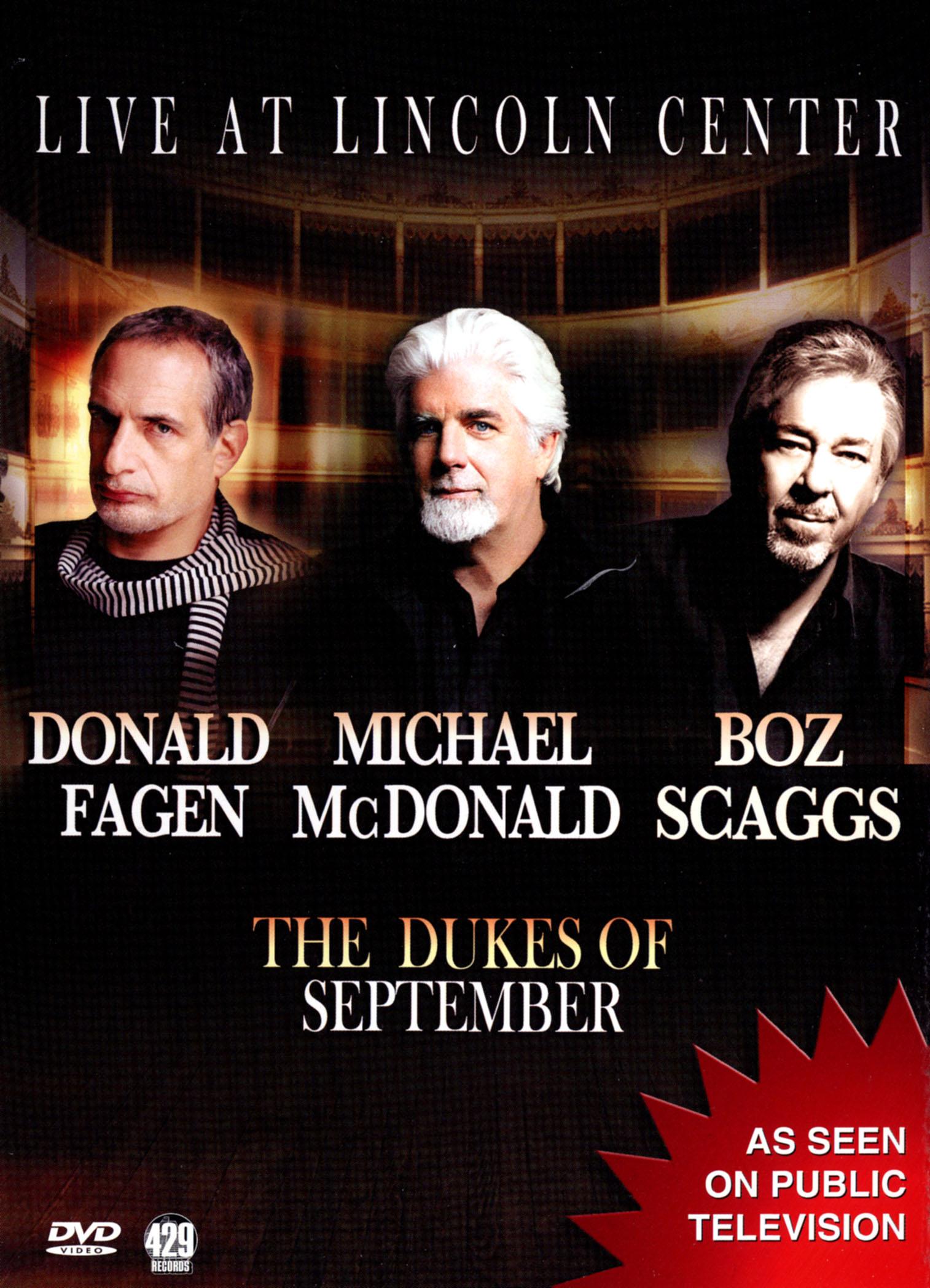 The Dukes of September: Live from Lincoln Center