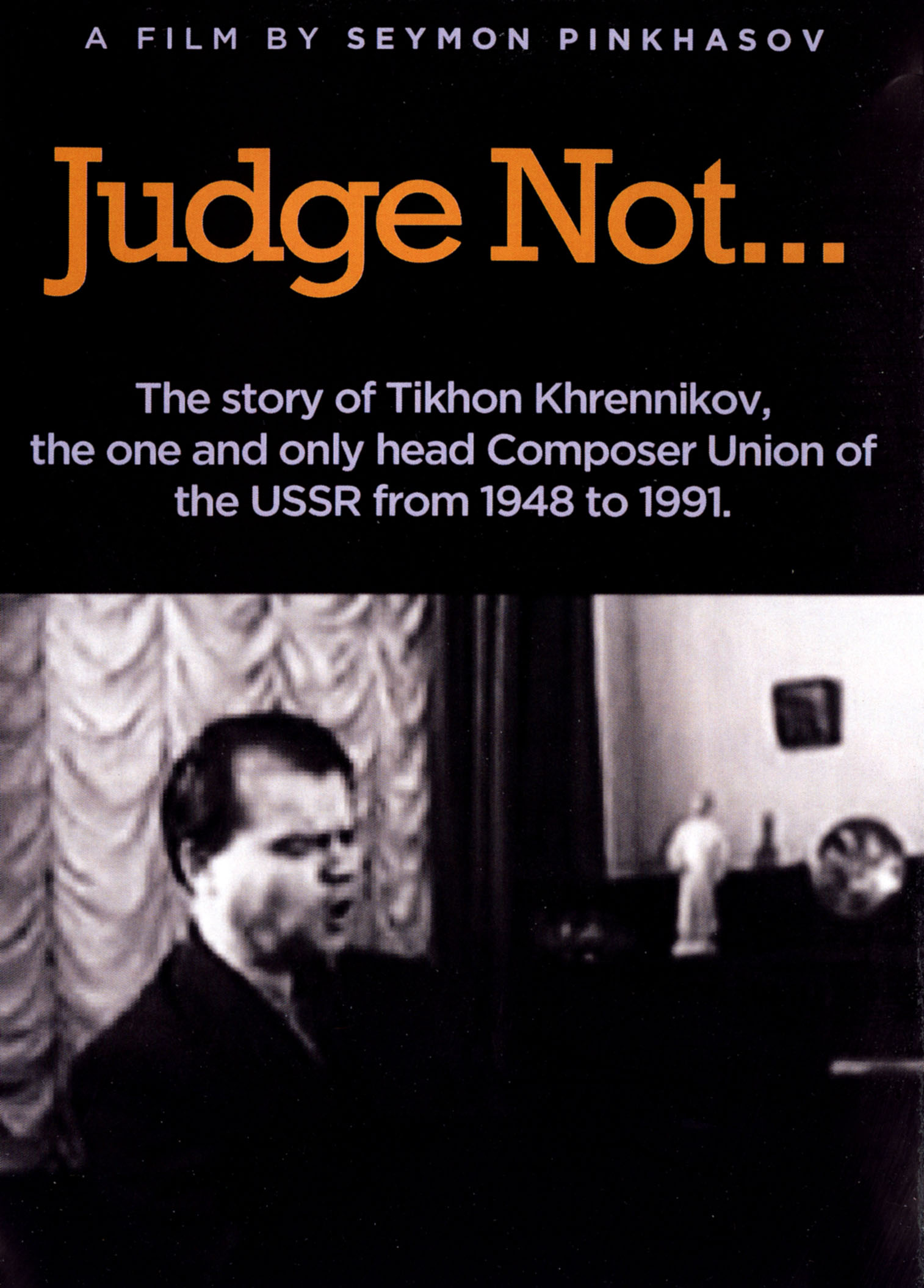 Judge Not...