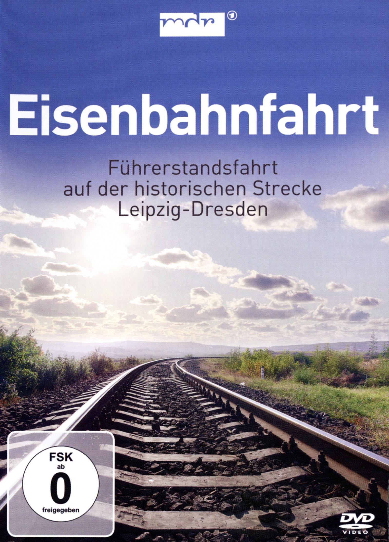 Eisenbahnfahrt - Fuhrerstandsfahrt auf der Historischen Strecke Leipzig-Dresden