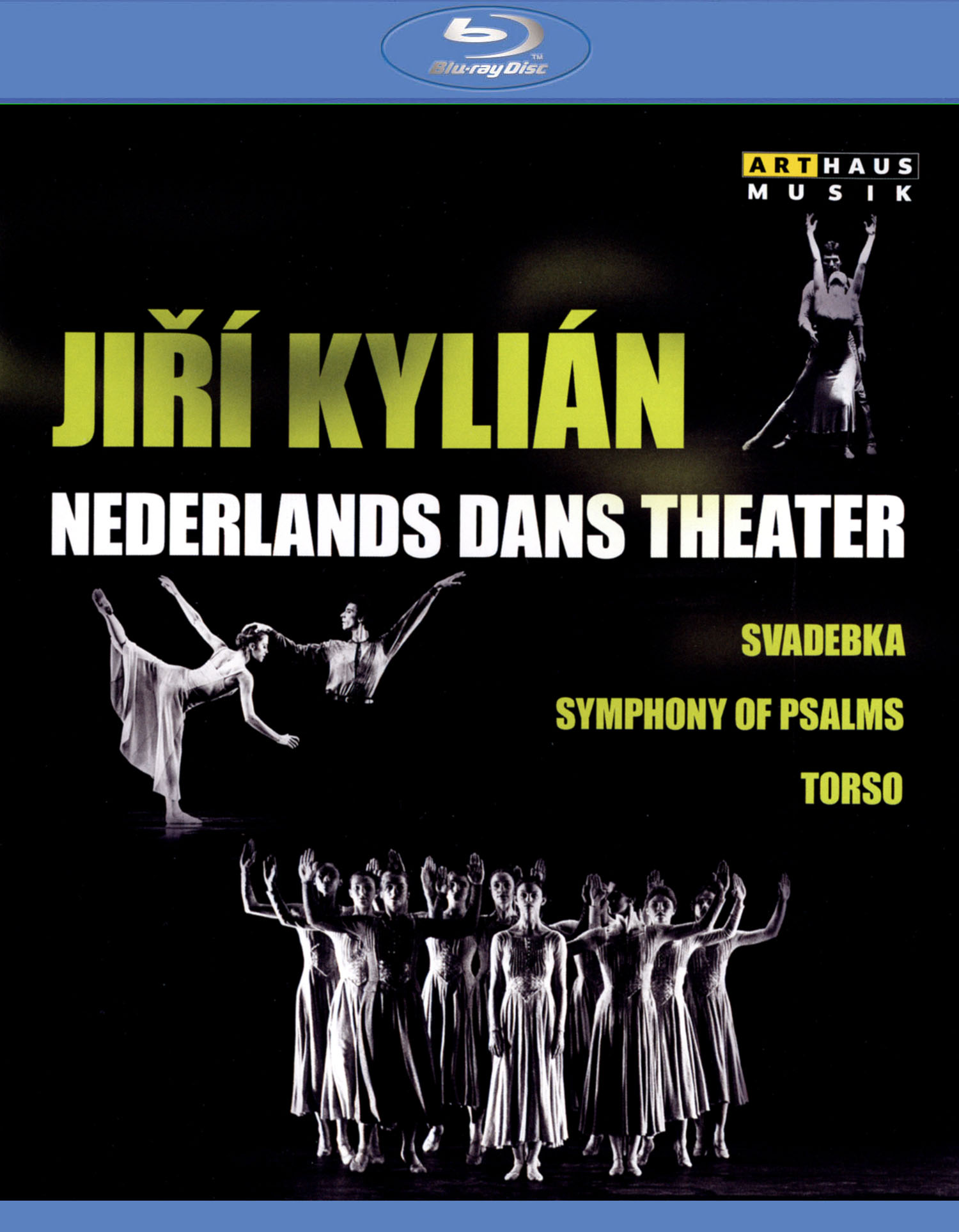 Jiri Kylian/Nederlands Dans Theater: Svadebka/Symphony of Psalms/Torso