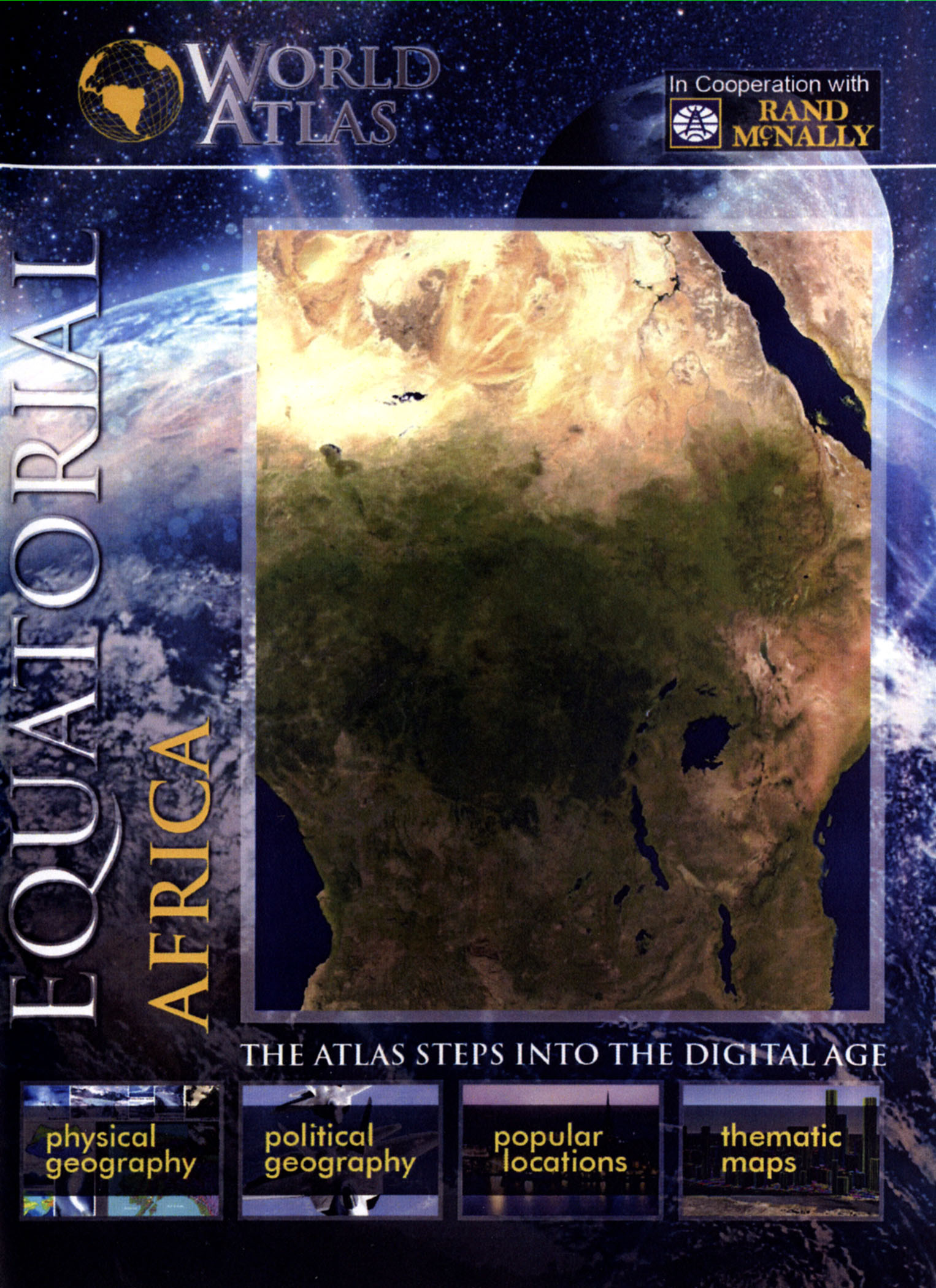 The World Atlas: Equatorial Africa