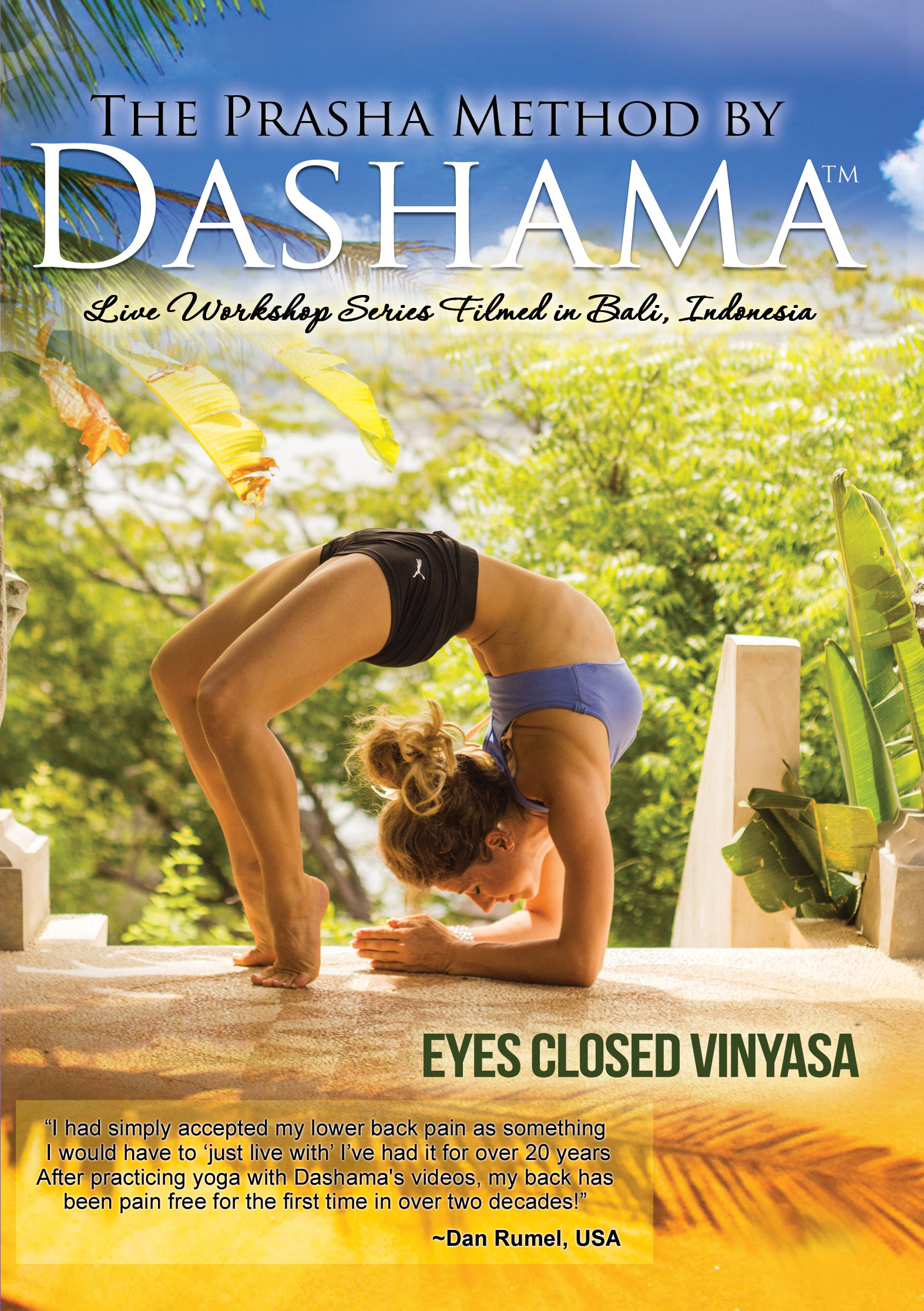 The Prasha Method by Dashama: Eyes Closed Vinyasa