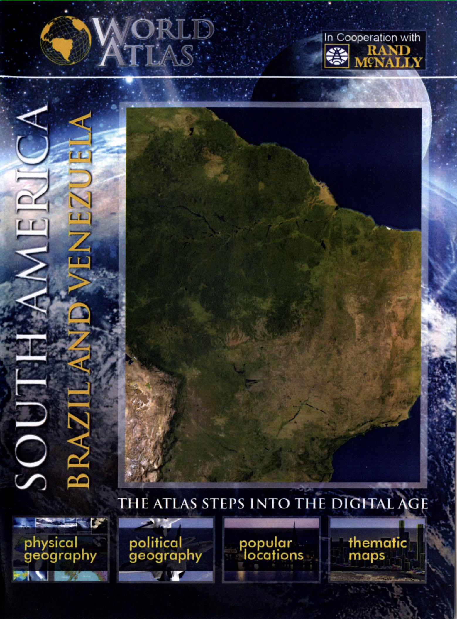 The World Atlas: South America - Brazil and Venezuela