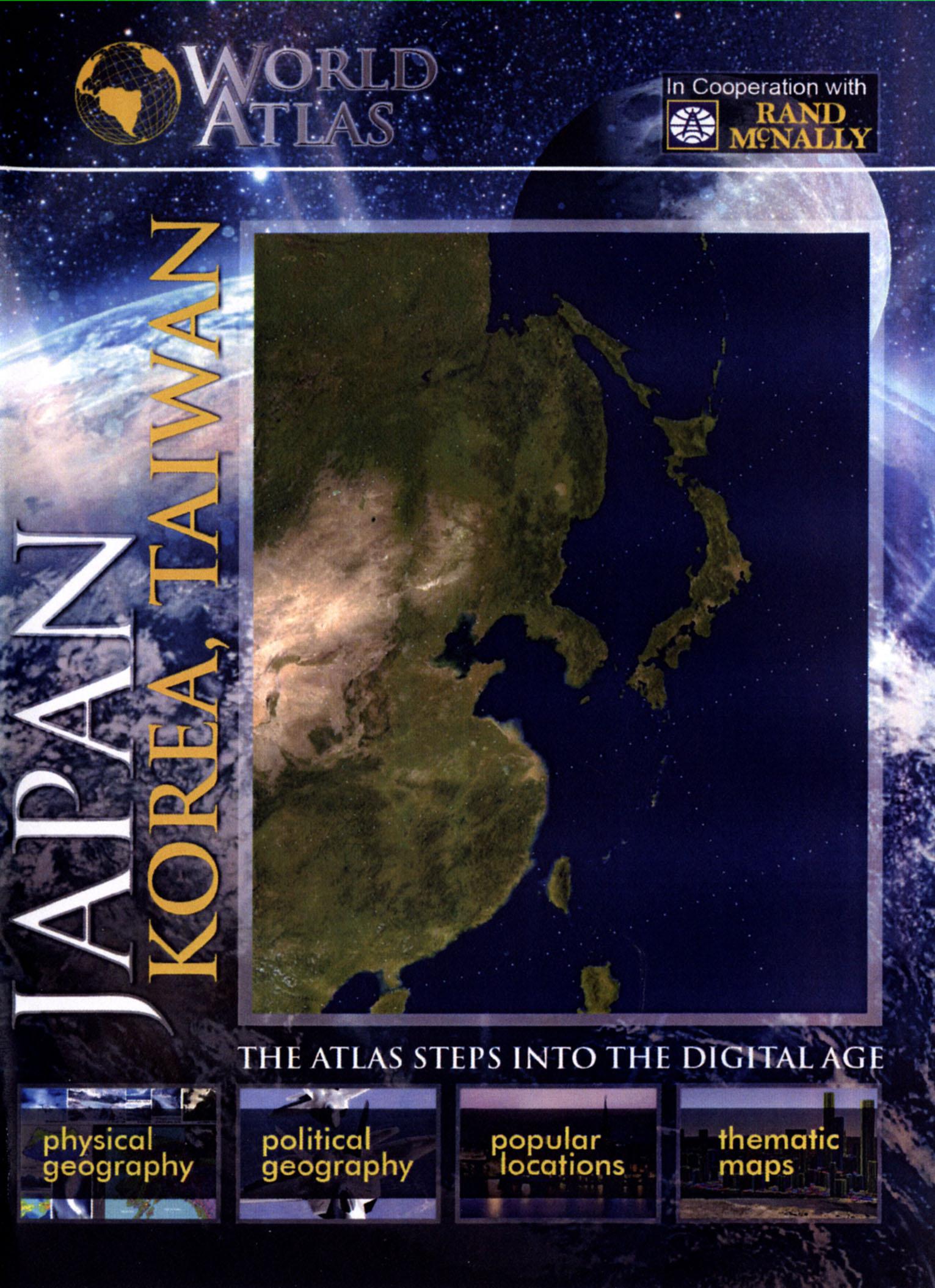 The World Atlas: Japan, Korea and Taiwan