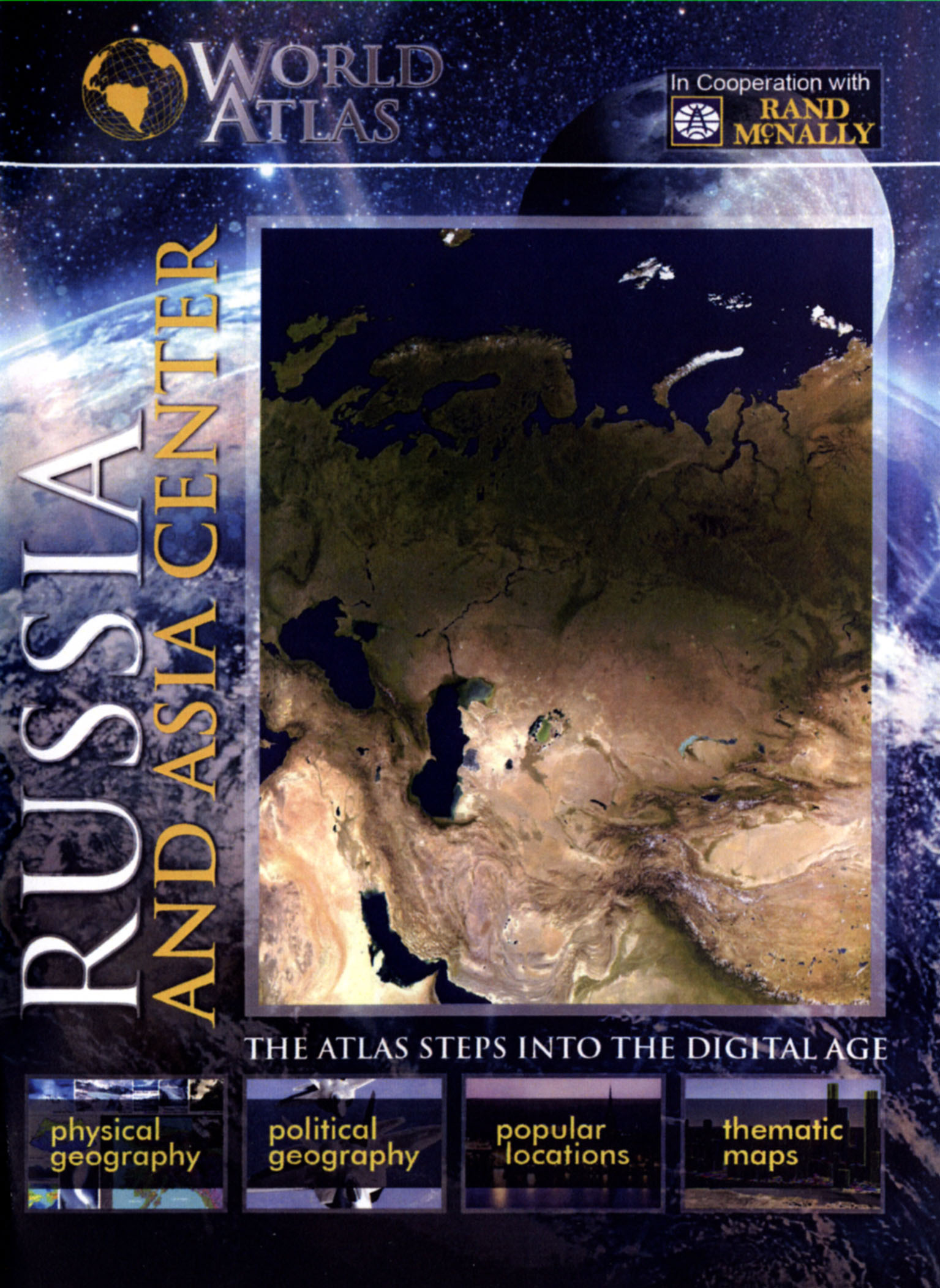 The World Atlas: Russia and Asia Center