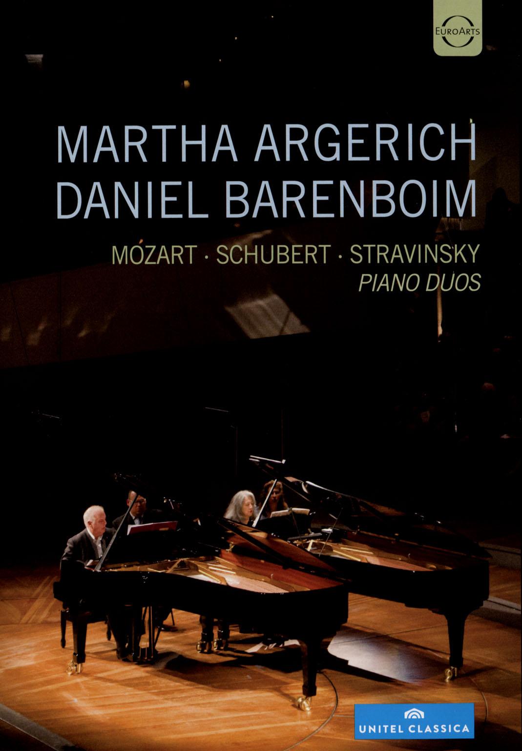 Martha Argerich/Daniel Barenboim: Mozart/Schubert/Stravinsky - Piano Duos