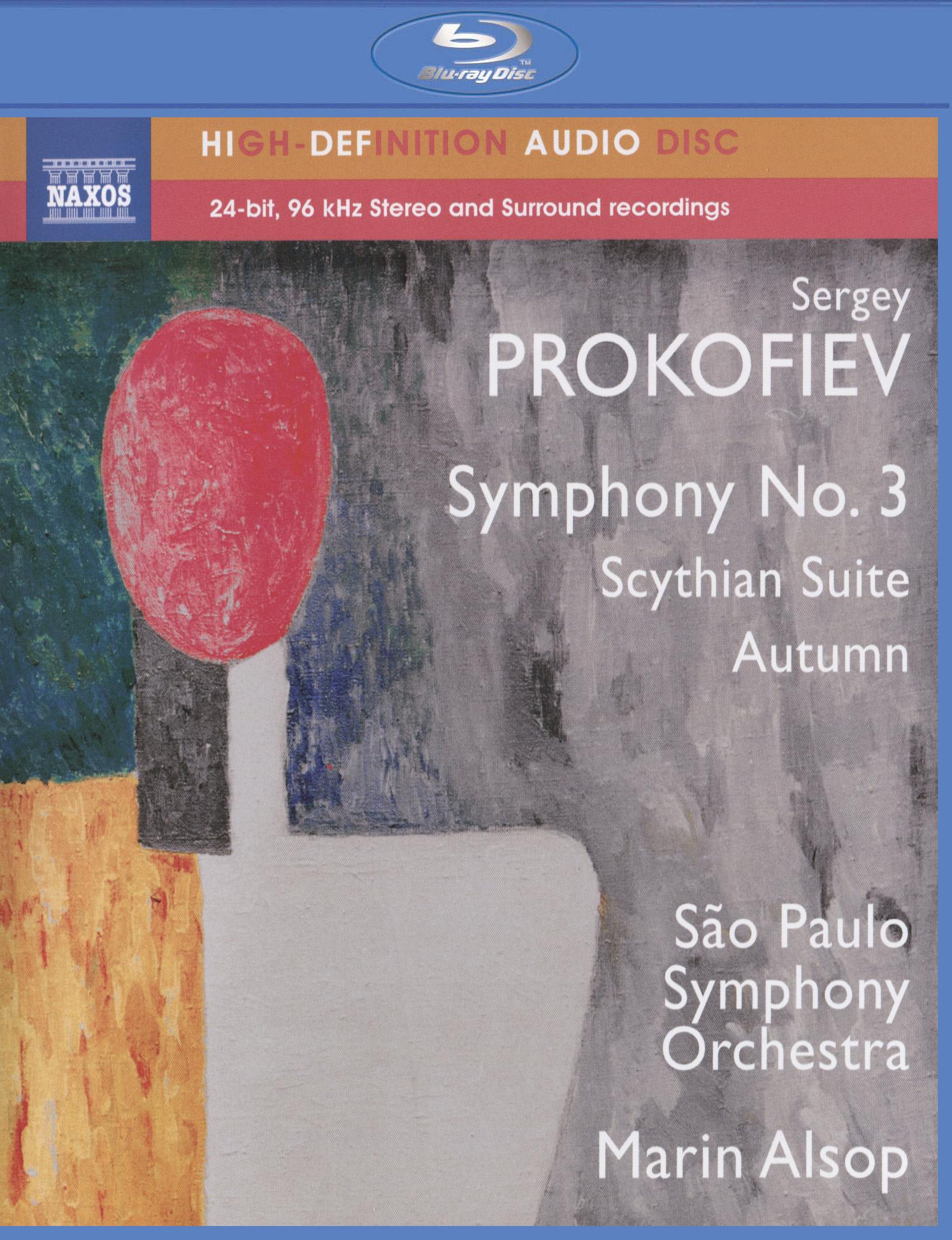 Prokofiev: Symphony No. 3/Scythian Suite/Autumn (2014)