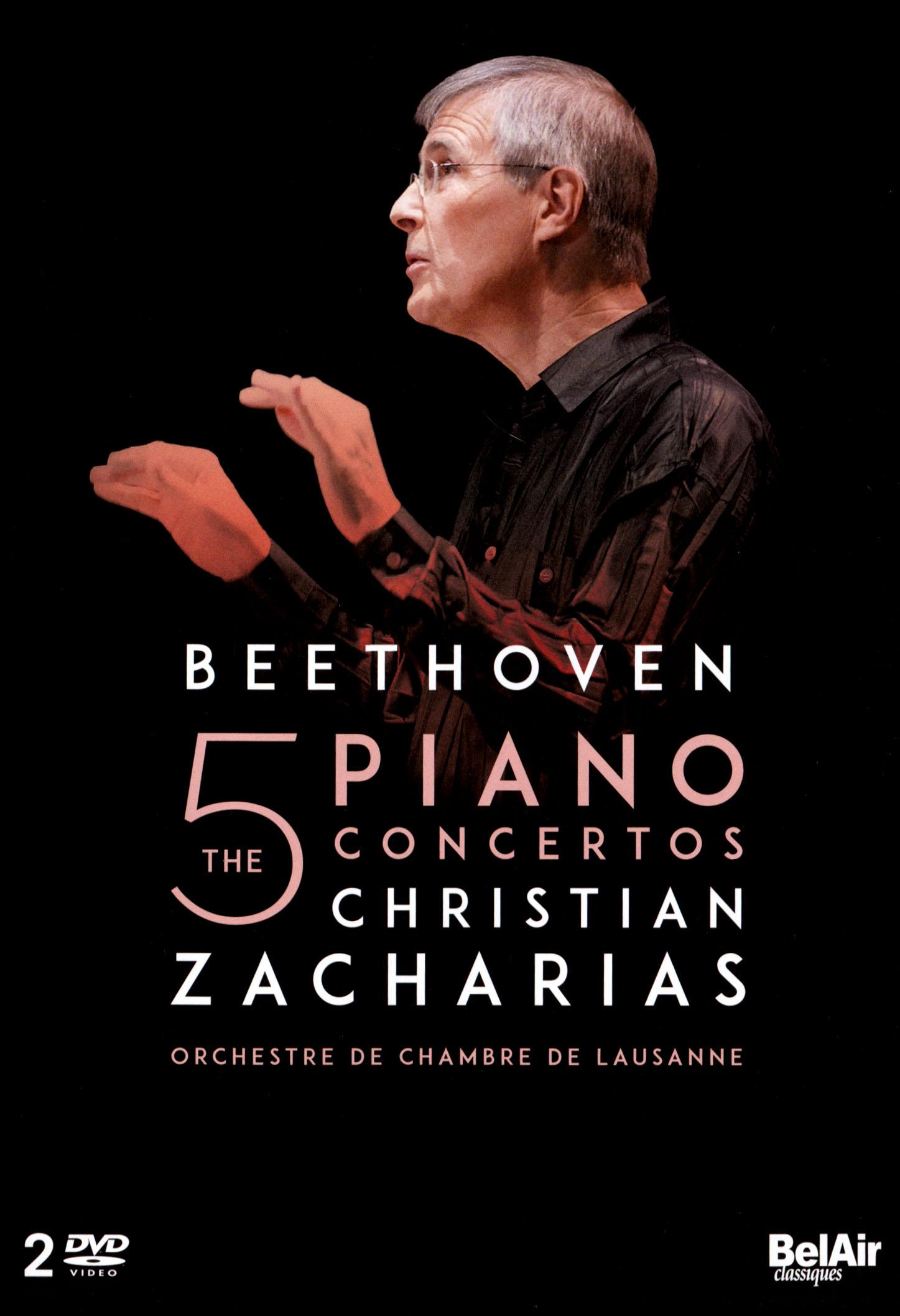 Christian Zacharias: Beethoven - The 5 Piano Concertos