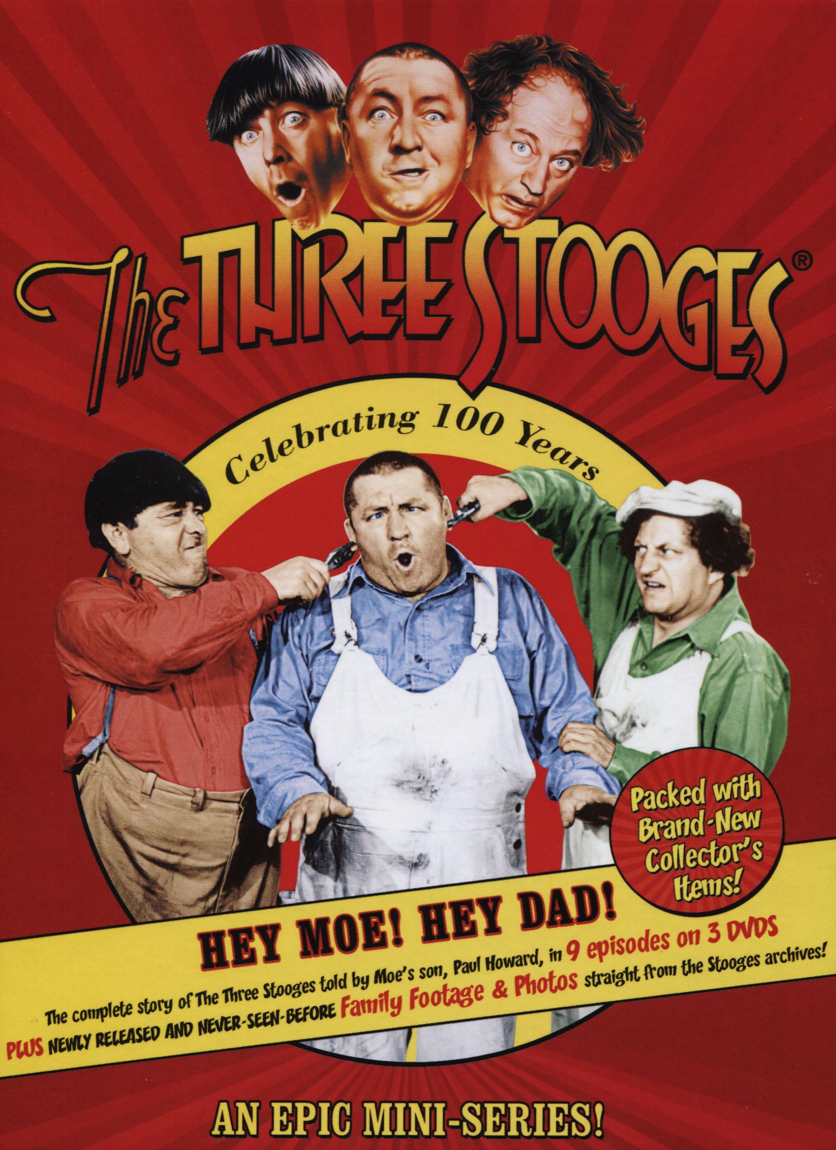The Three Stooges: Hey Moe! Hey Dad!
