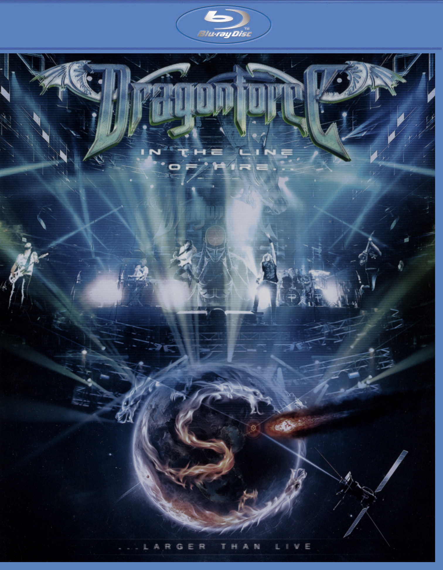 Dragonforce: In the Line of Fire... Larger Than Live