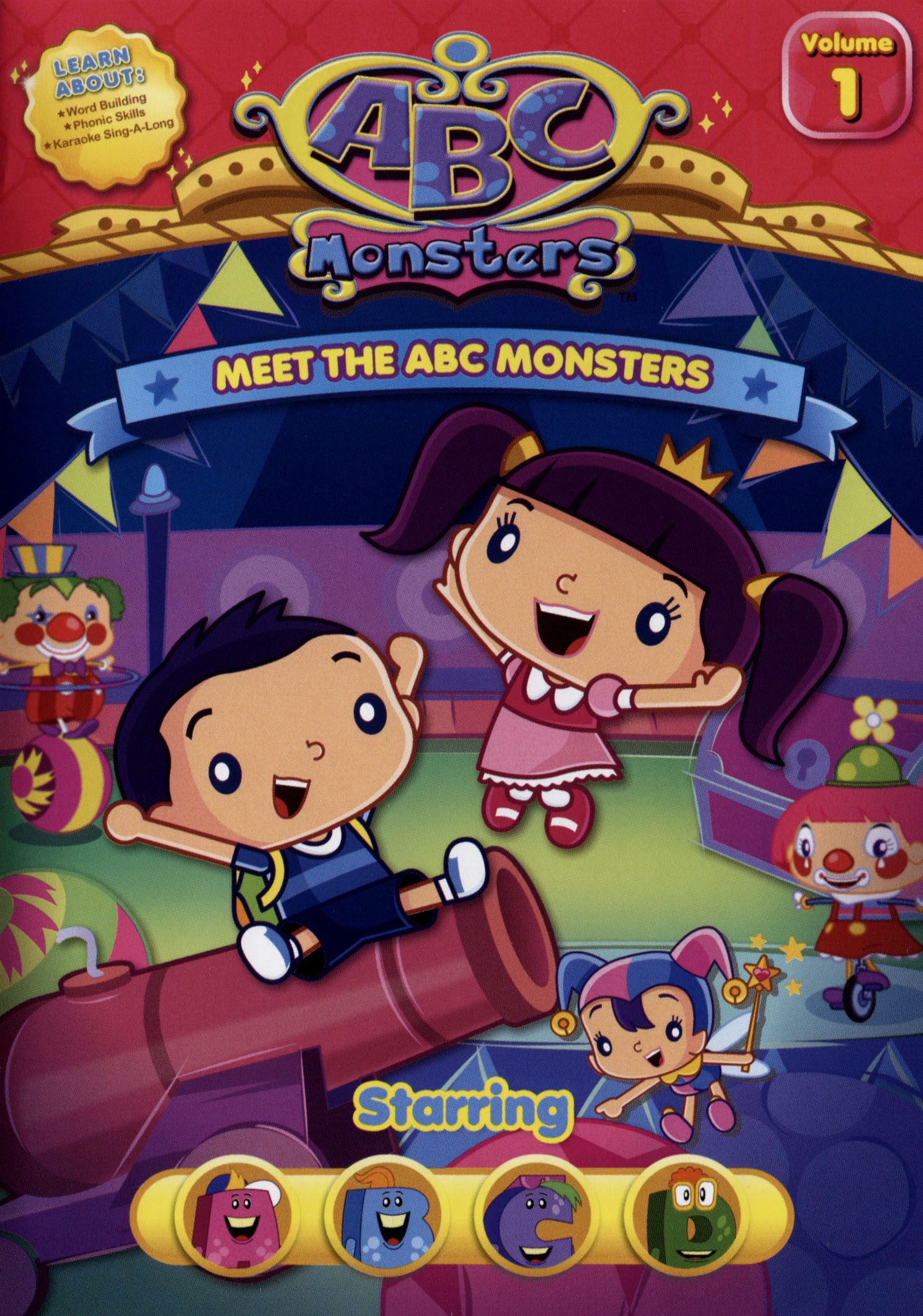 ABC Monsters: Meet the ABC Monsters - Starring ABCD