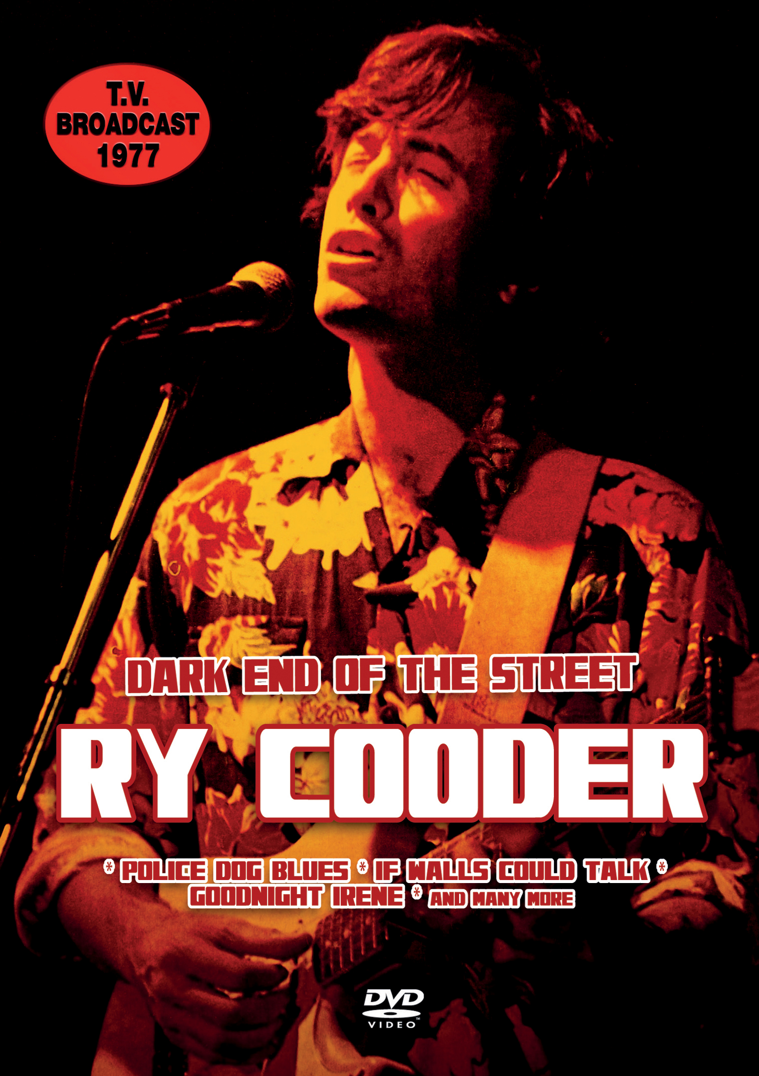 Ry Cooder: Dark End of the Street